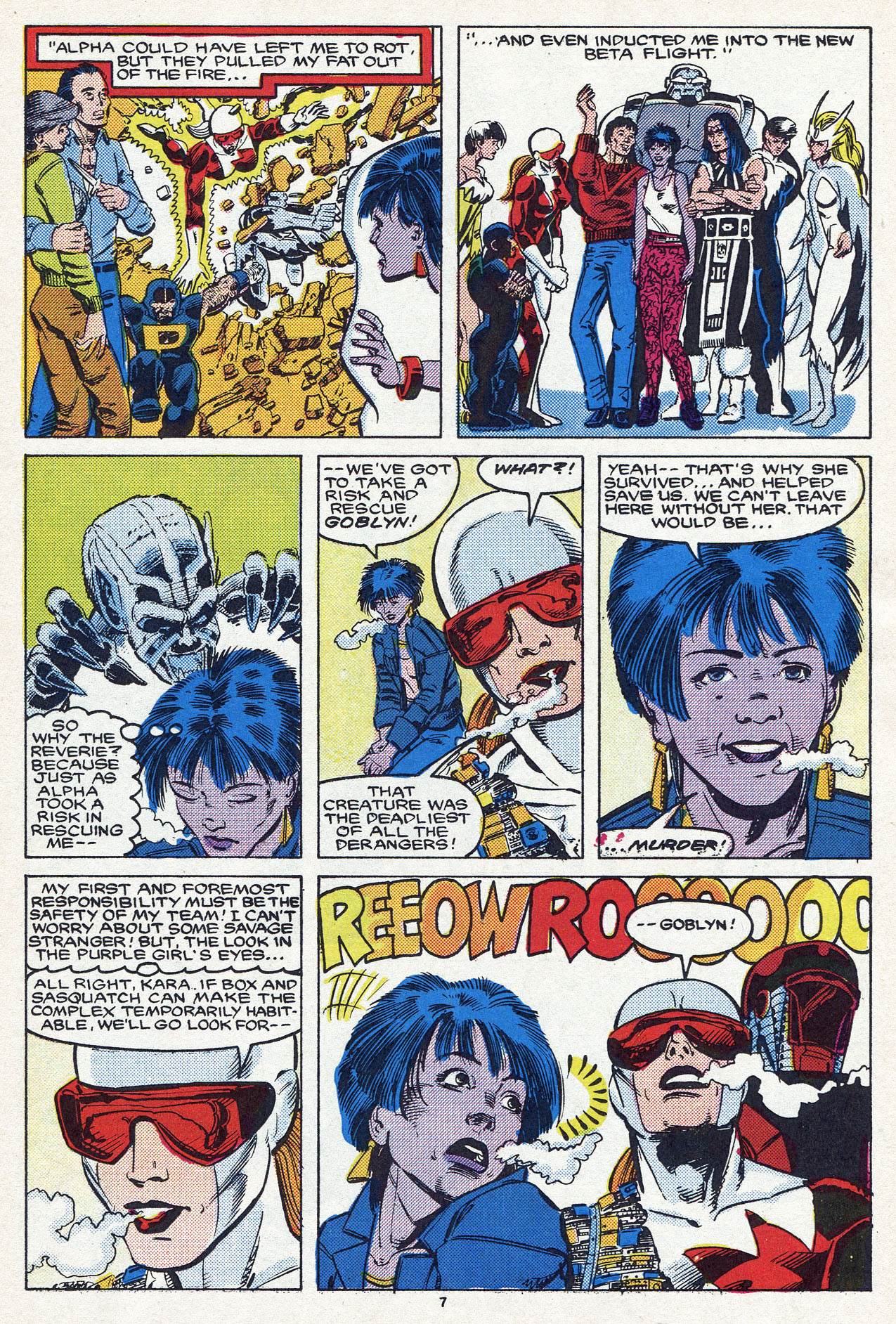 Read online Alpha Flight (1983) comic -  Issue #54 - 11