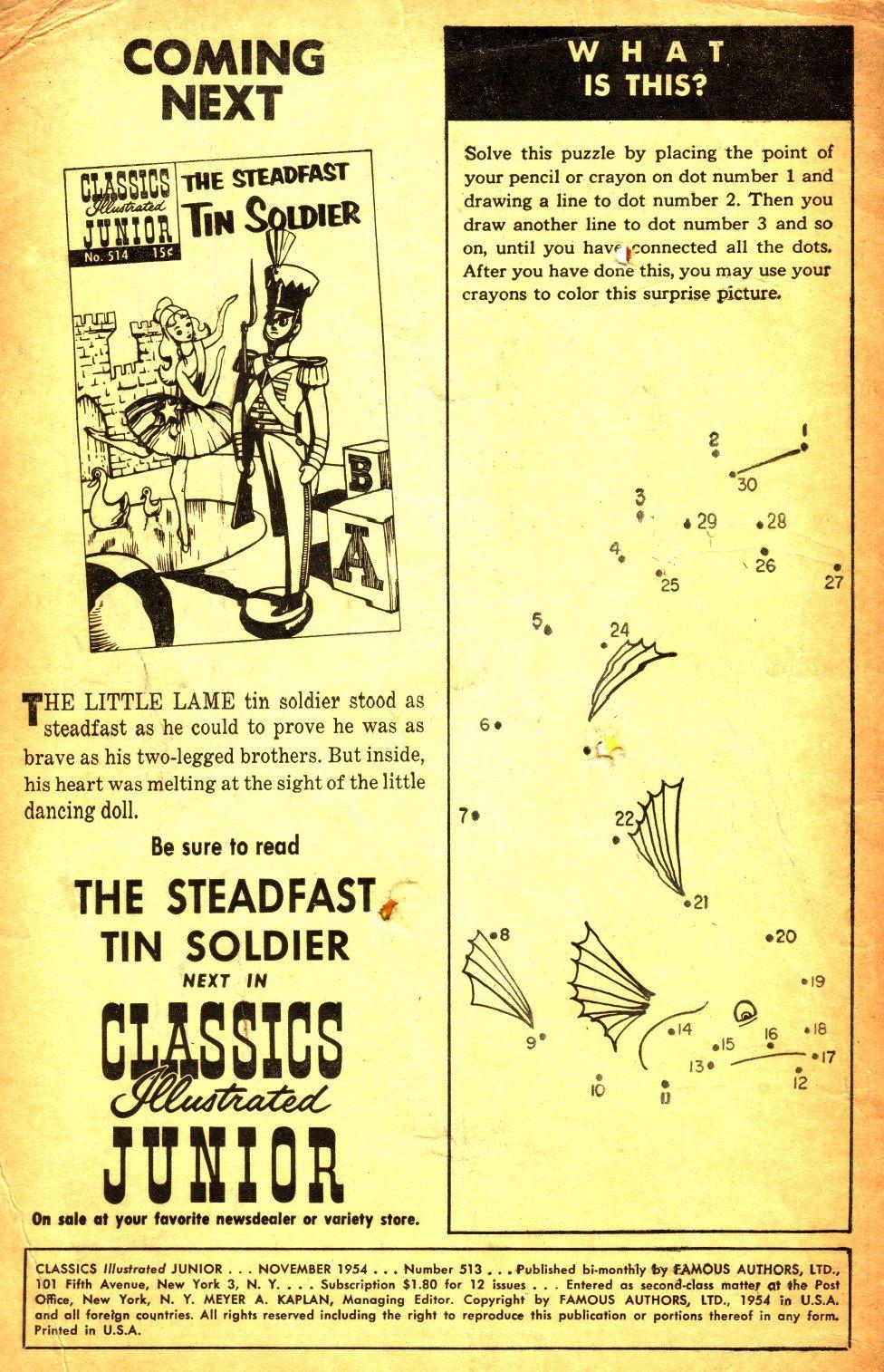 Classics Illustrated Junior 513 Page 2