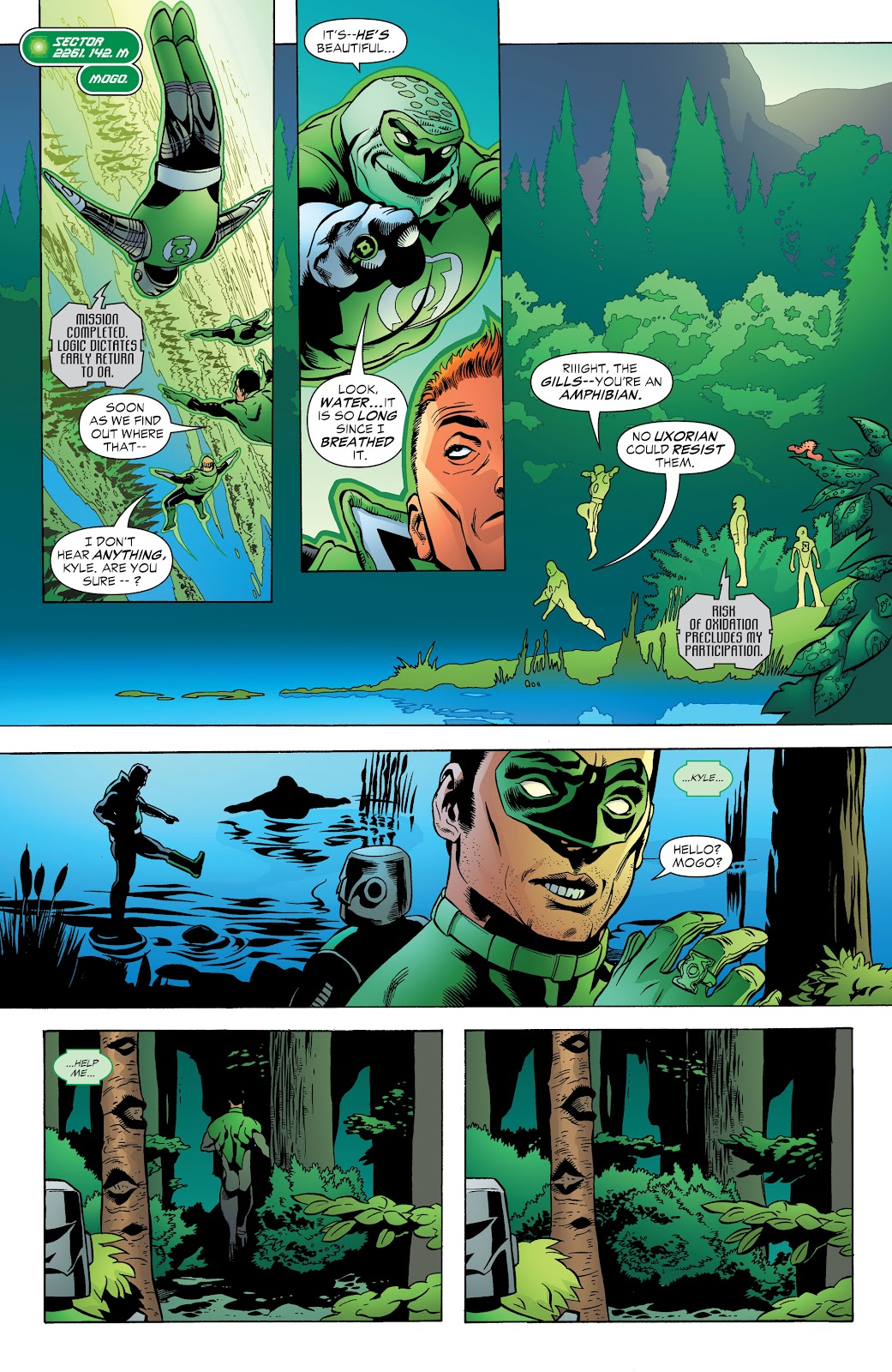 Read online Green Lantern by Geoff Johns comic -  Issue # TPB 1 (Part 3) - 19