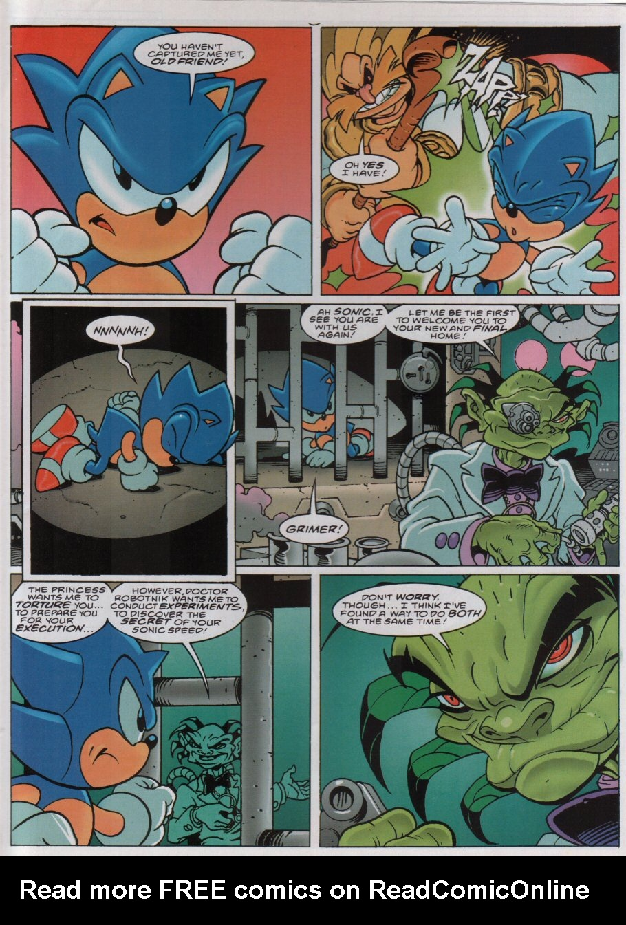 Read online Sonic the Comic comic -  Issue #156 - 6