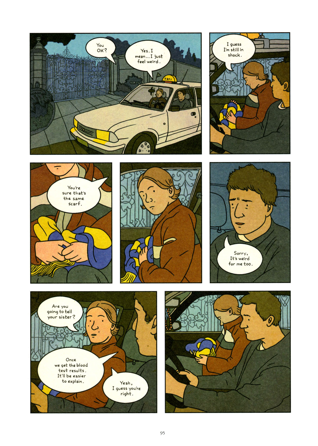 Read online Exit Wounds comic -  Issue # TPB - 96