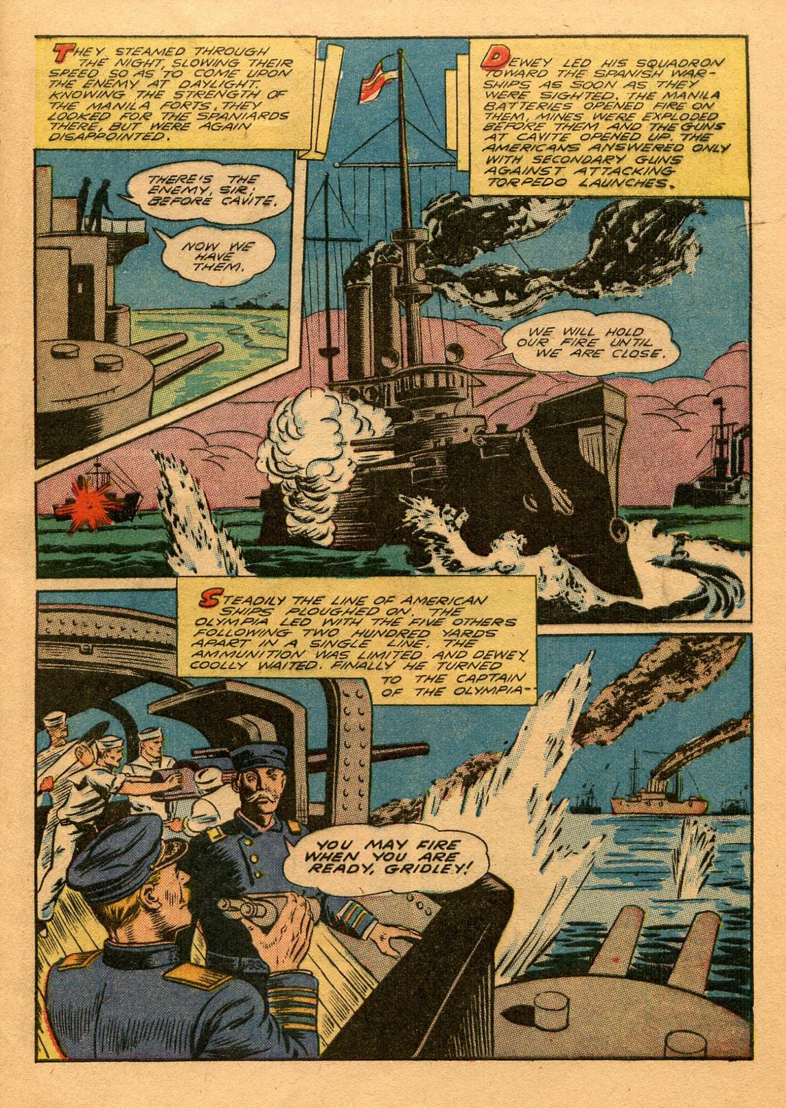 Read online Shadow Comics comic -  Issue #53 - 50