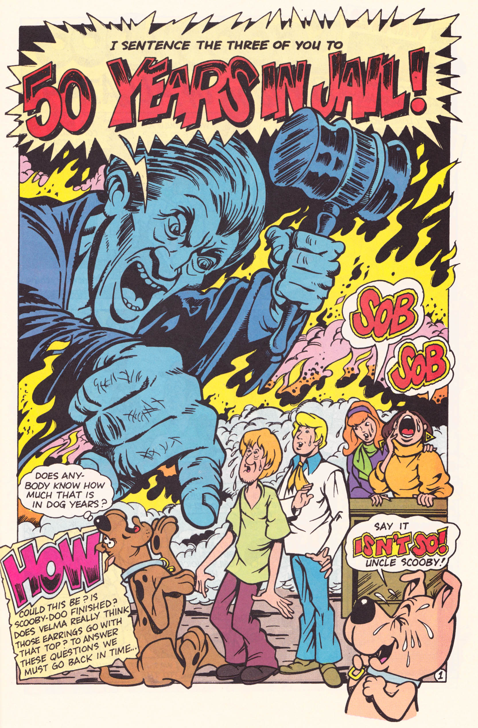 Read online Scooby-Doo (1995) comic -  Issue #1 - 16