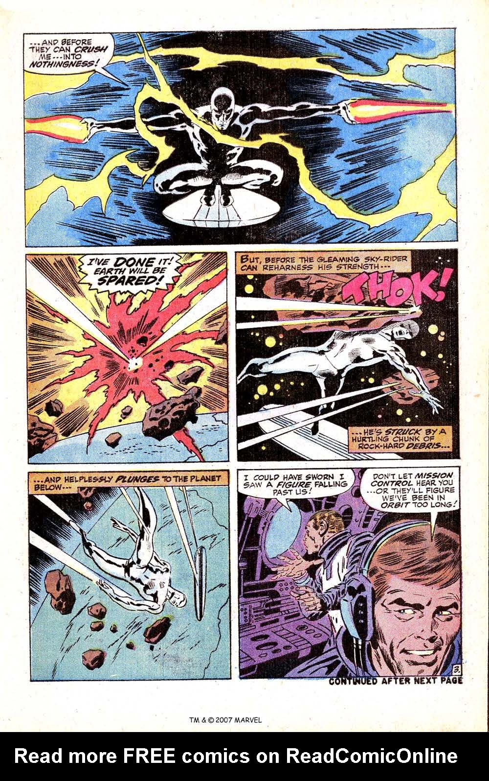 Read online Silver Surfer (1968) comic -  Issue #14 - 5