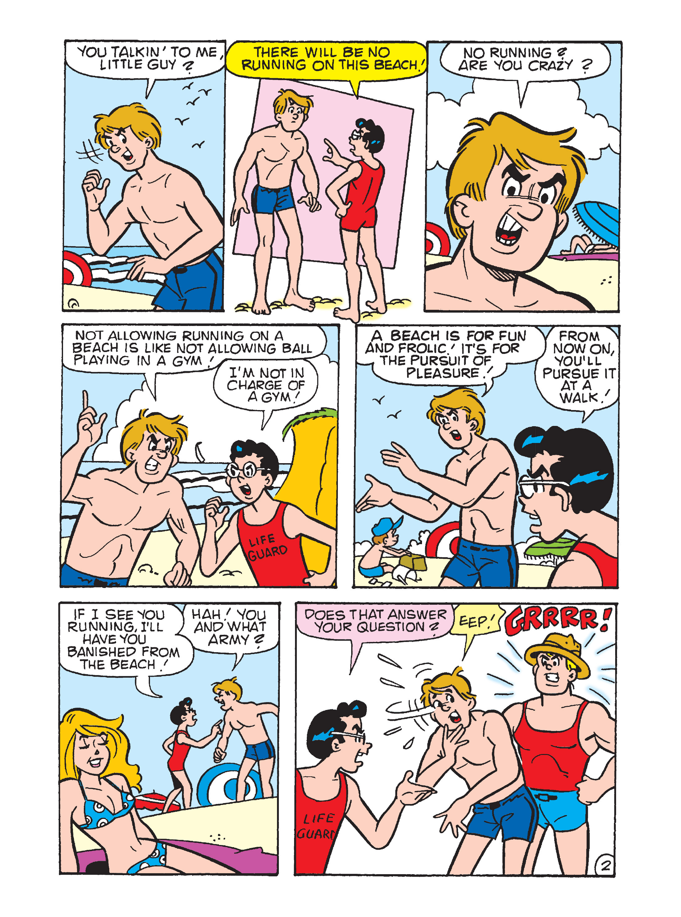 Read online Archie's Funhouse Double Digest comic -  Issue #7 - 24
