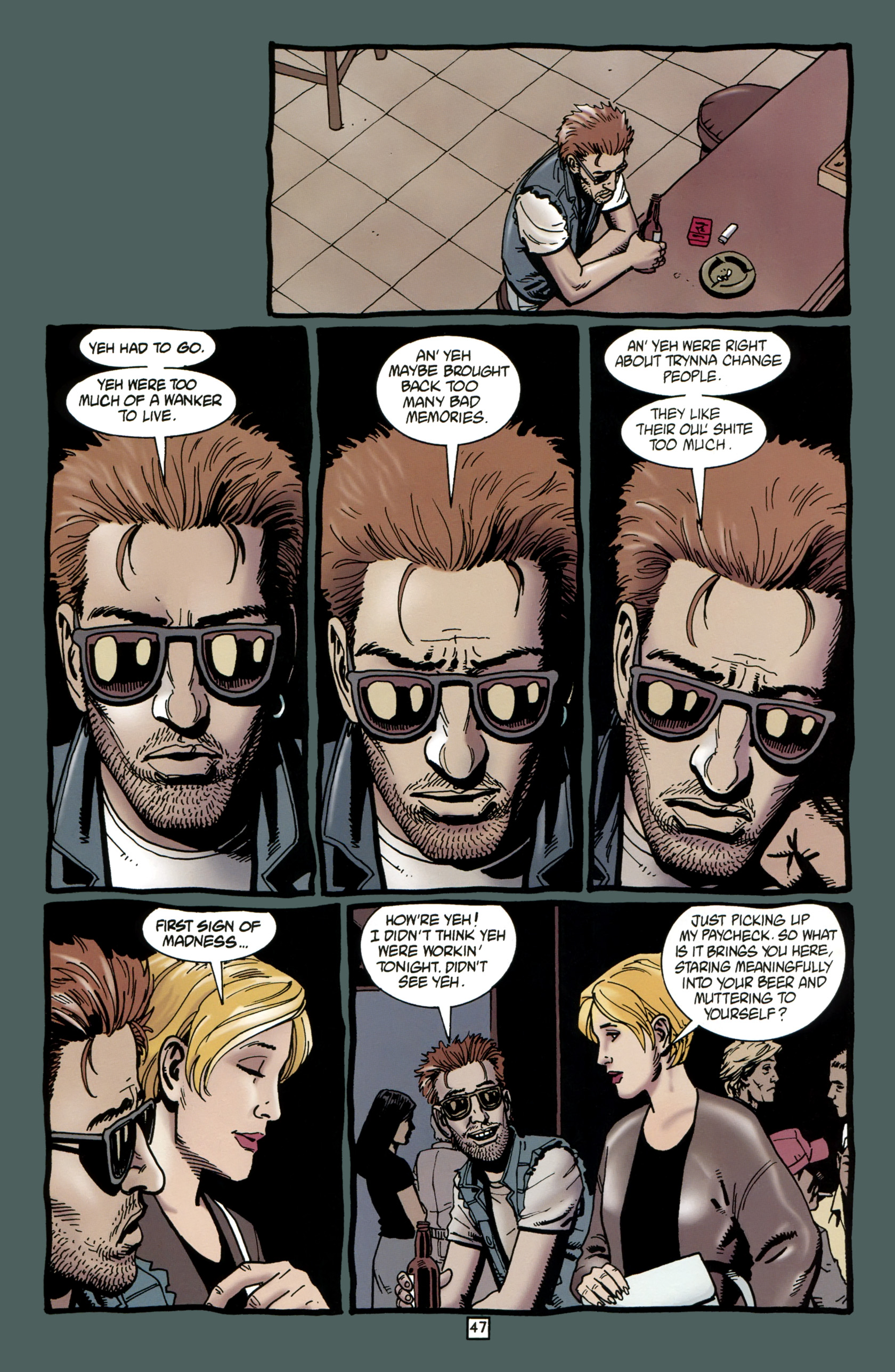 Read online Preacher Special: Cassidy : Blood and Whiskey comic -  Issue # Full - 49