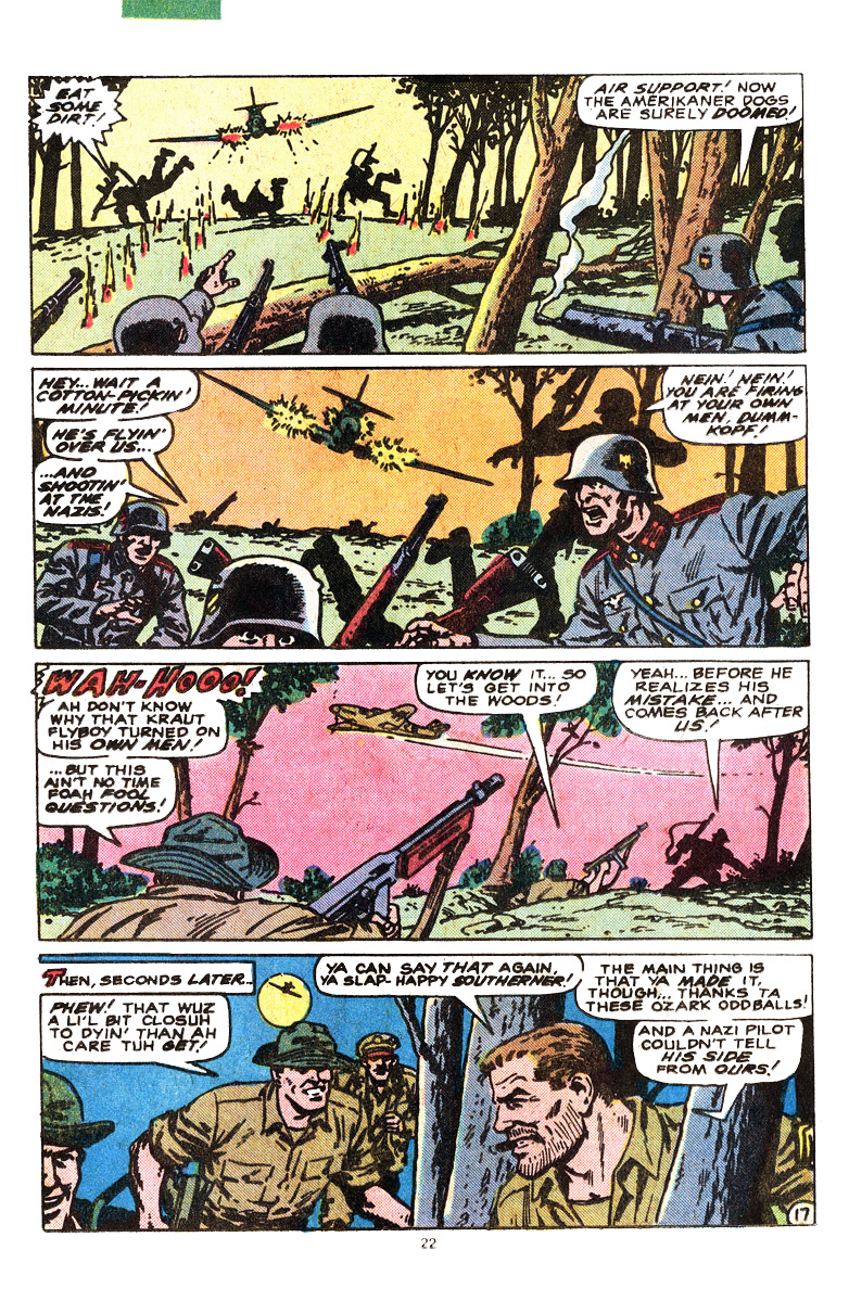 Read online Sgt. Fury comic -  Issue #164 - 24