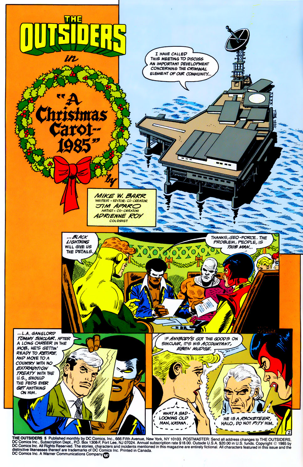 Read online Adventures of the Outsiders comic -  Issue #43 - 3
