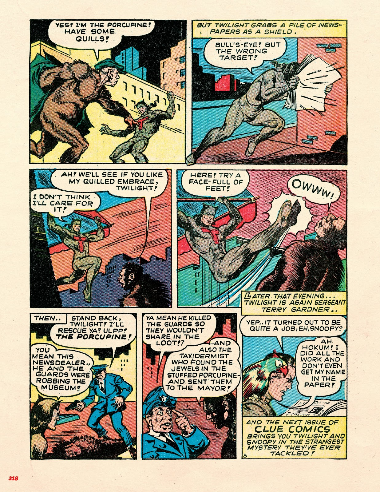 Read online Super Weird Heroes comic -  Issue # TPB 2 (Part 3) - 118