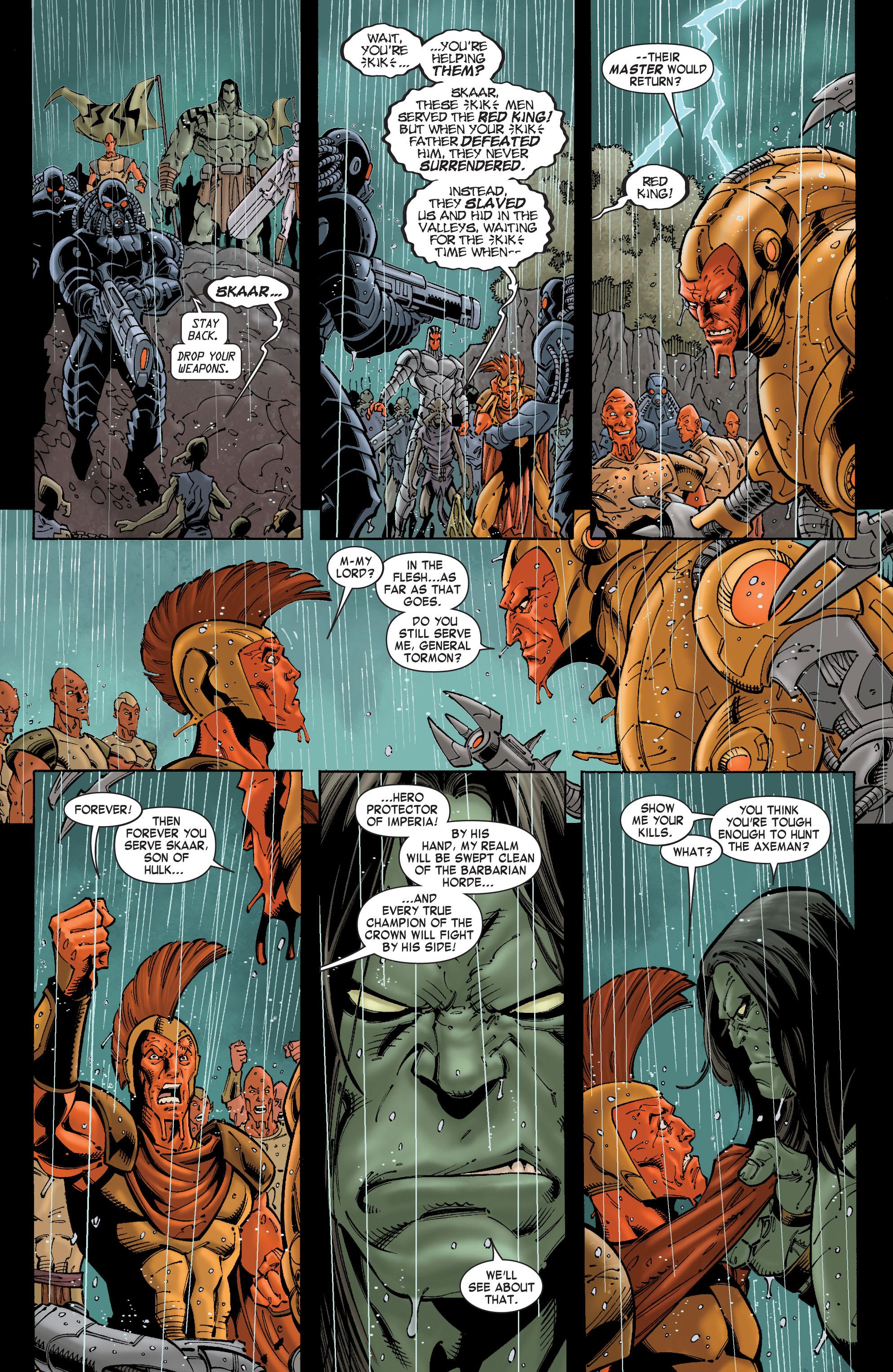 Read online Skaar: Son of Hulk comic -  Issue #8 - 6