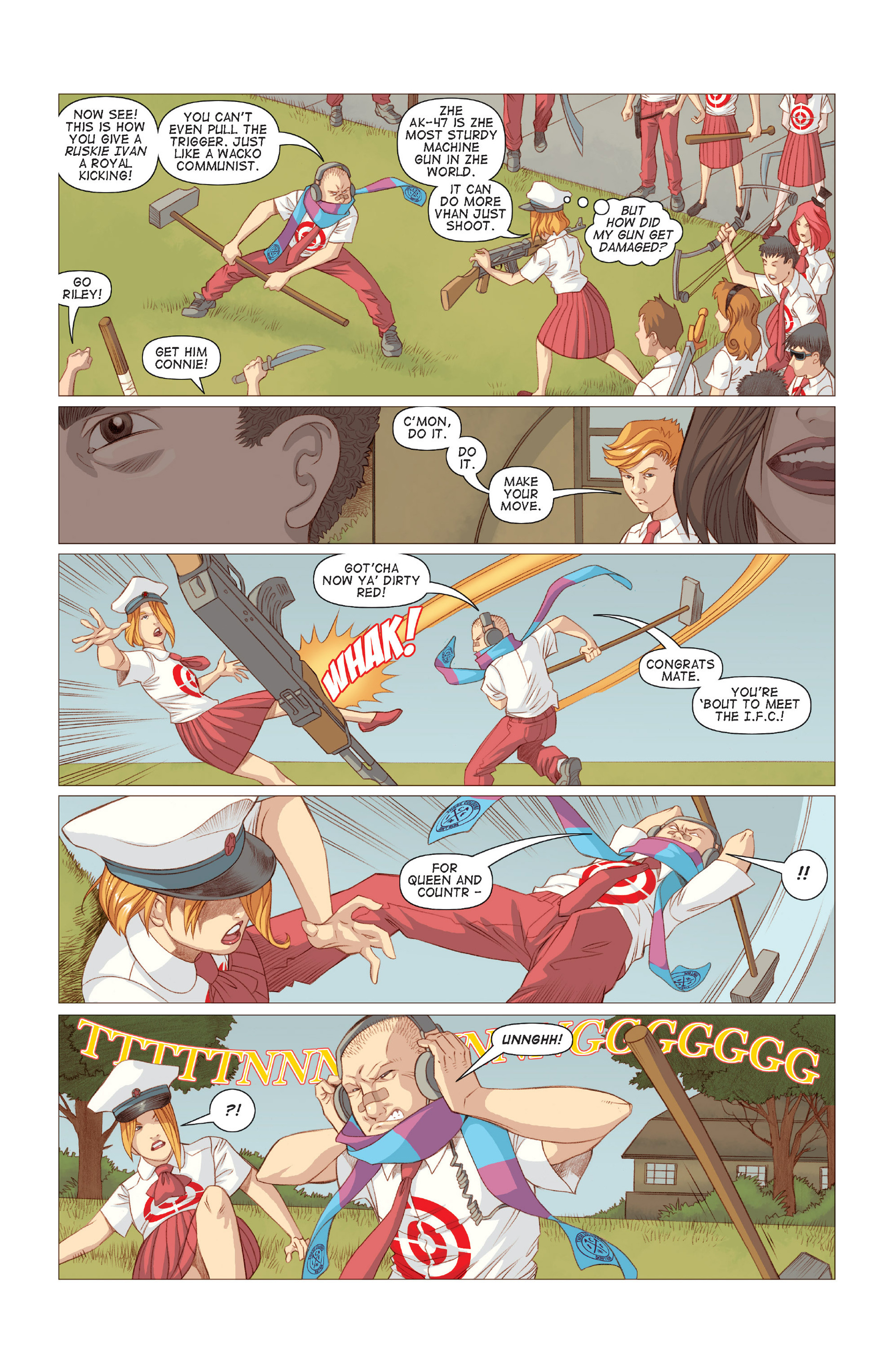 Read online Five Weapons comic -  Issue #7 - 3