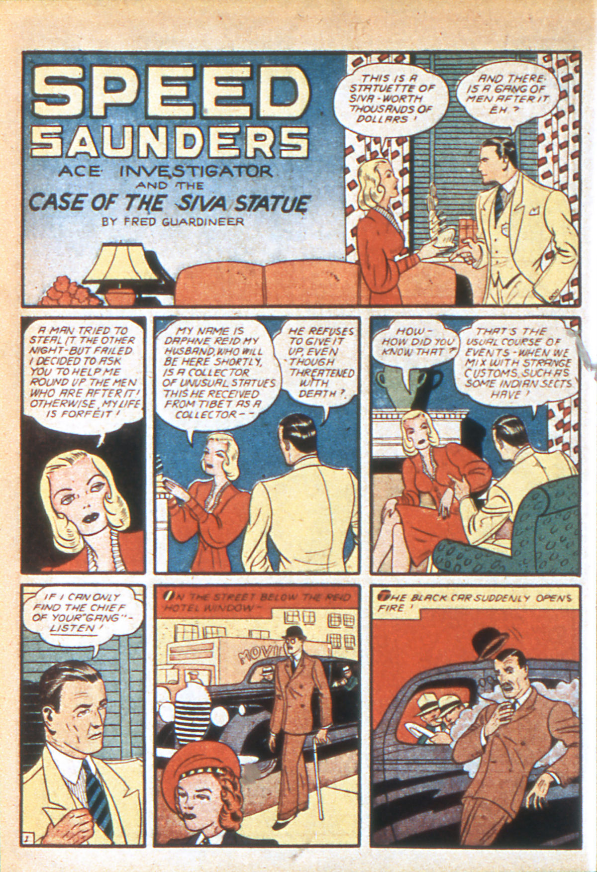 Read online Detective Comics (1937) comic -  Issue #39 - 37