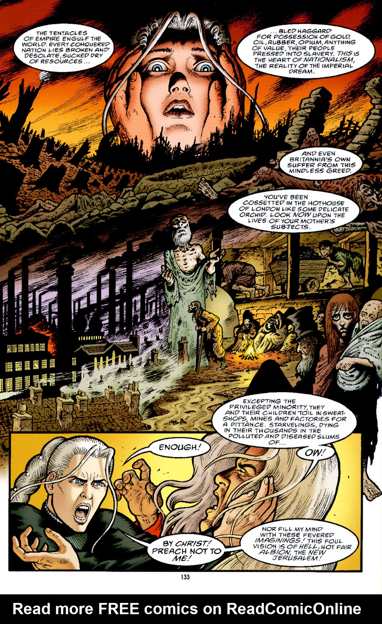 Read online Heart of Empire comic -  Issue #5 - 9