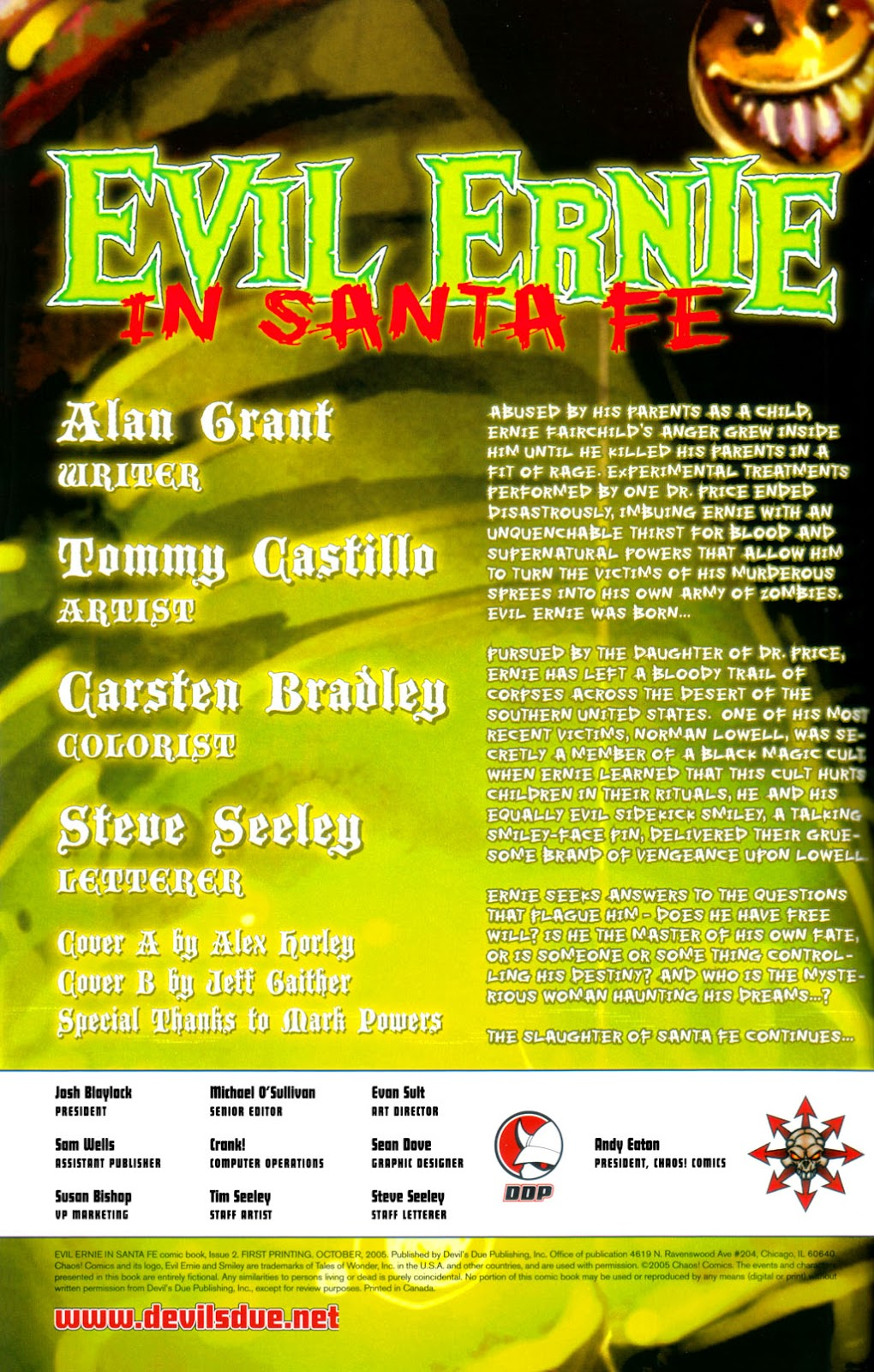 Read online Evil Ernie in Santa Fe comic -  Issue #2 - 3