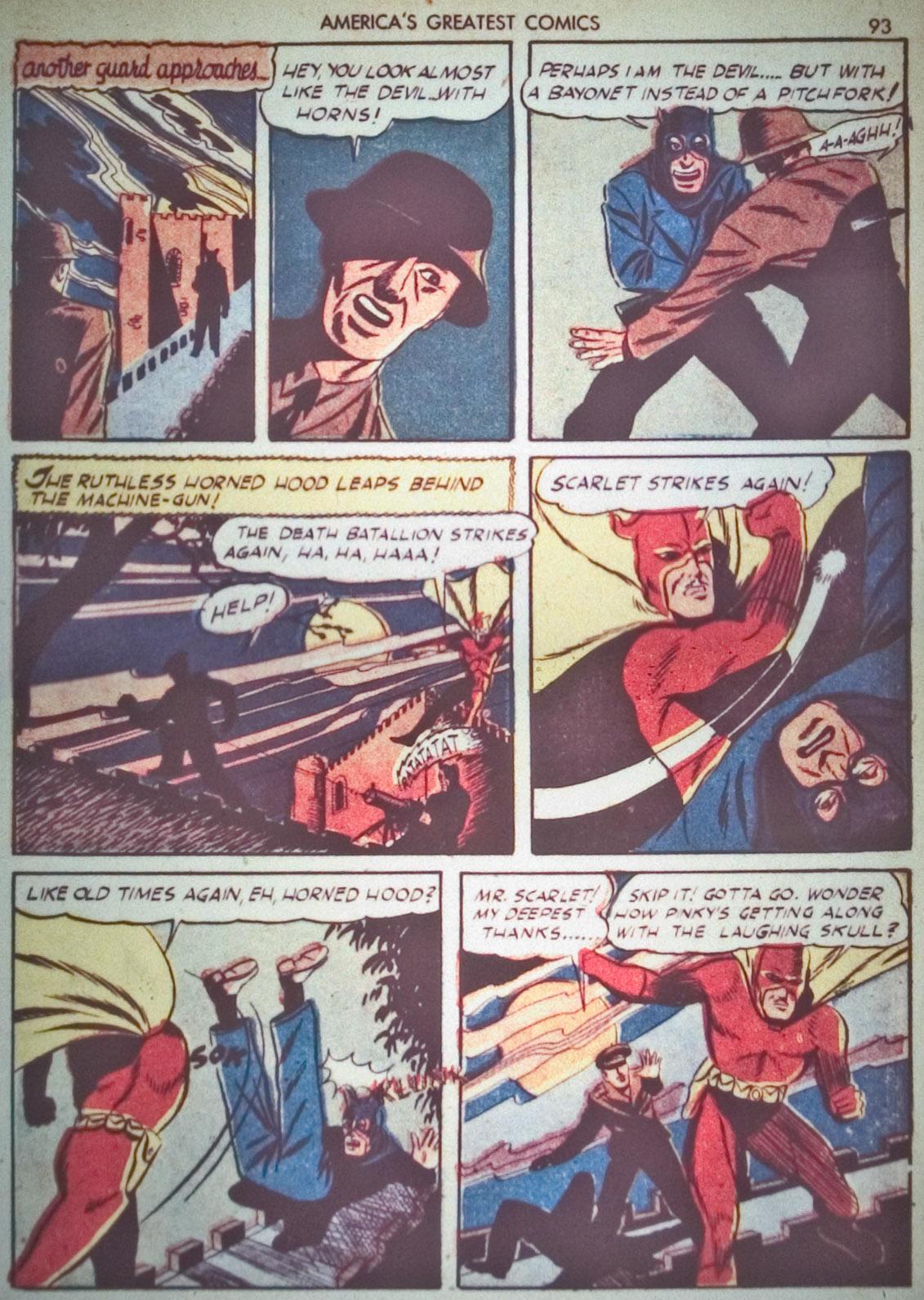 Read online America's Greatest Comics comic -  Issue #1 - 96