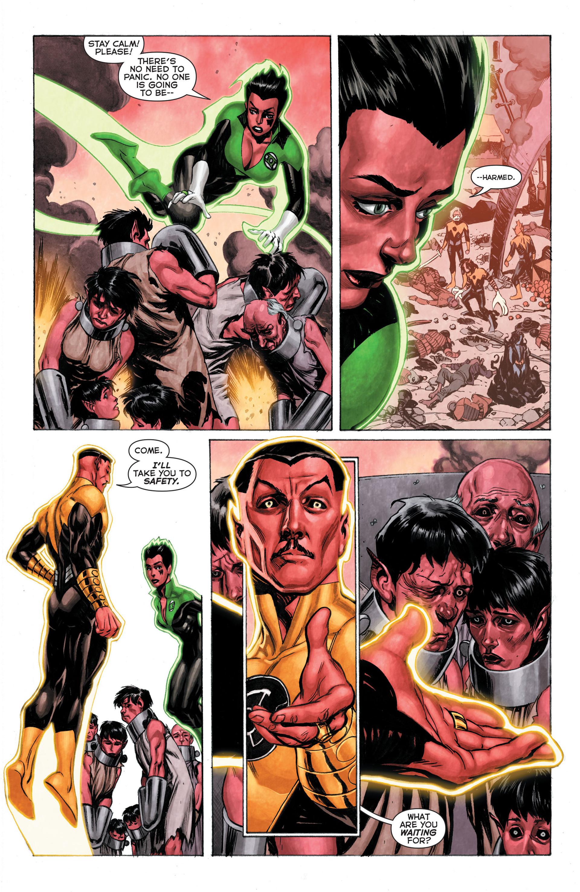 Read online Sinestro comic -  Issue #3 - 19