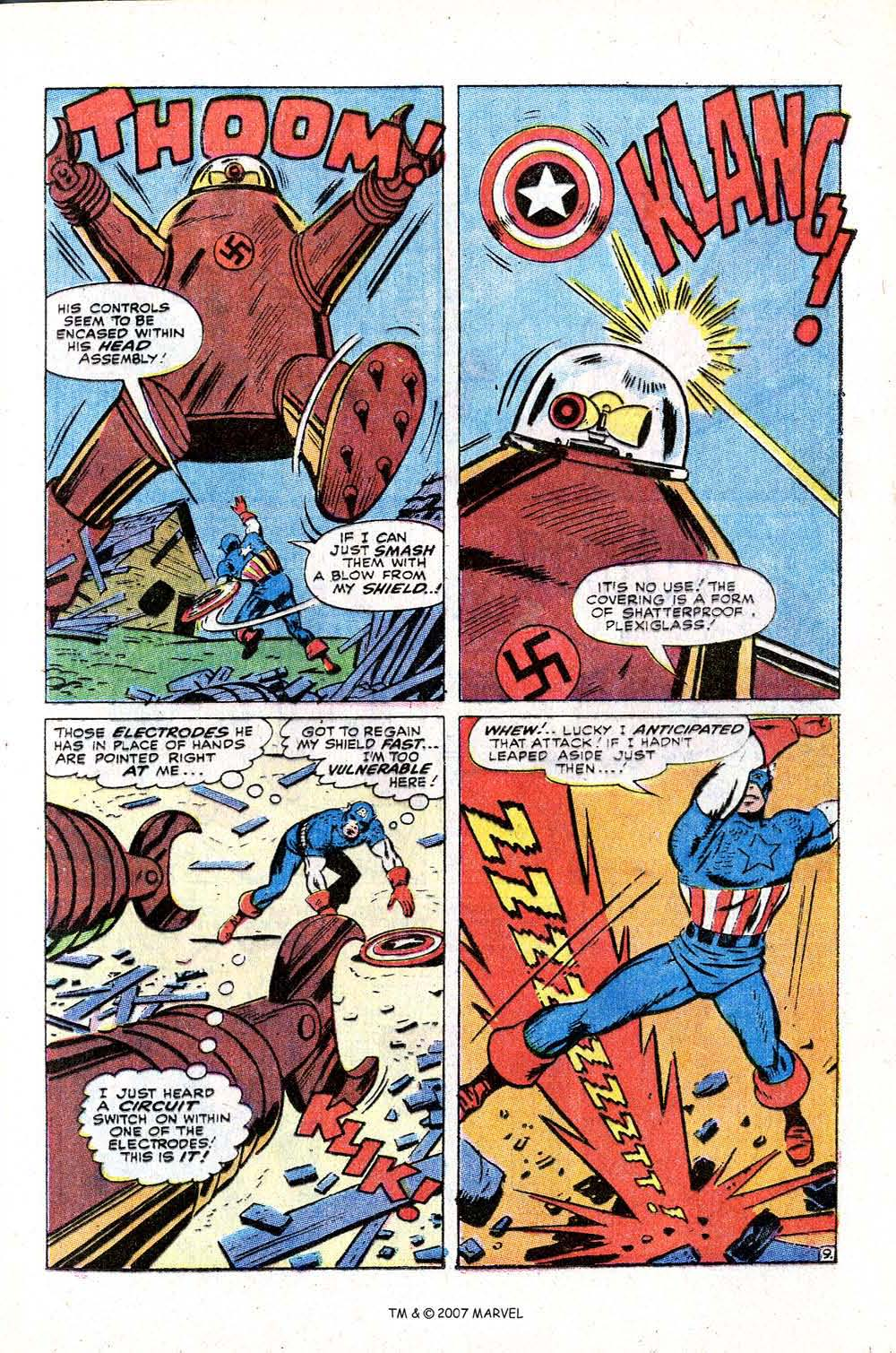 Read online Captain America (1968) comic -  Issue # _Annual 2 - 13