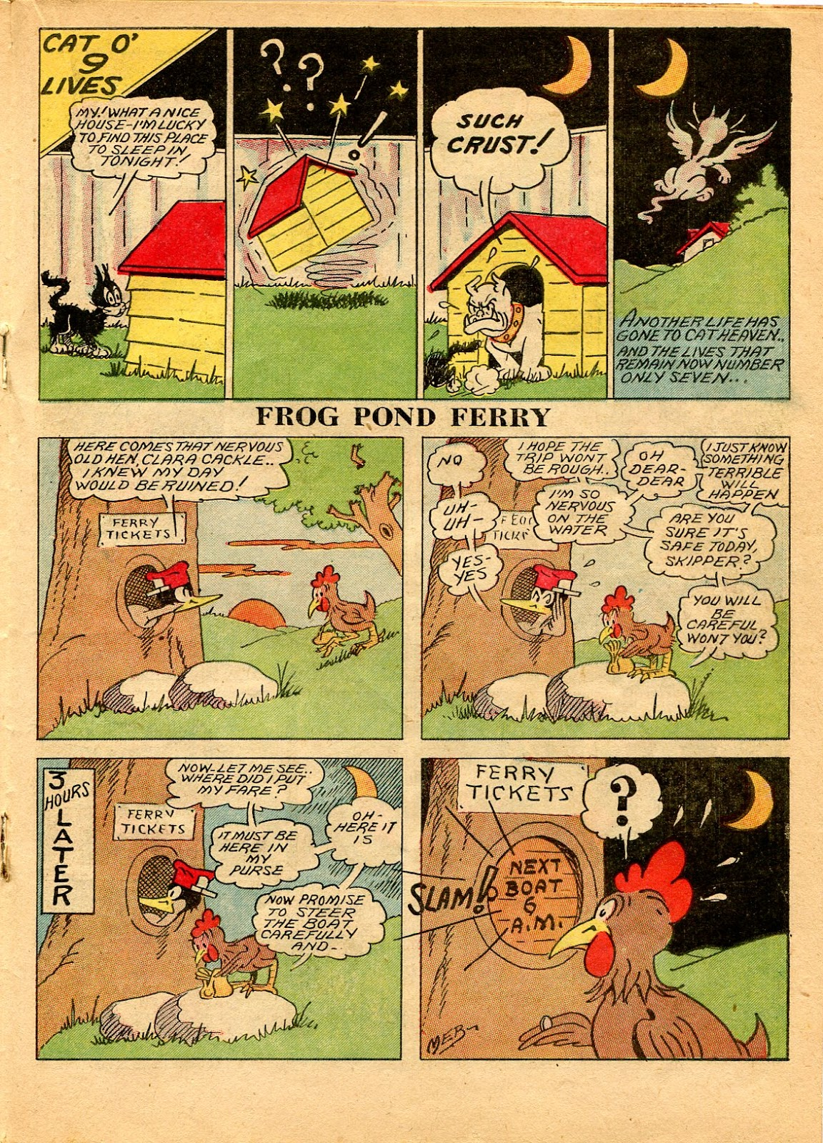 Read online Famous Funnies comic -  Issue #49 - 37