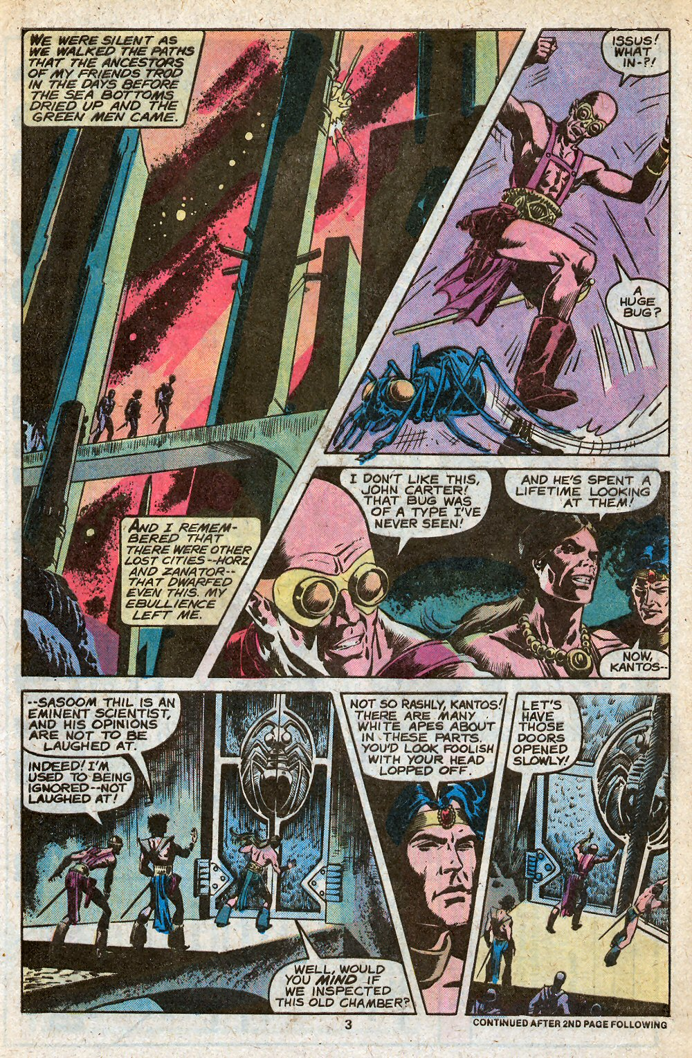 John Carter Warlord of Mars issue 28 - Page 5