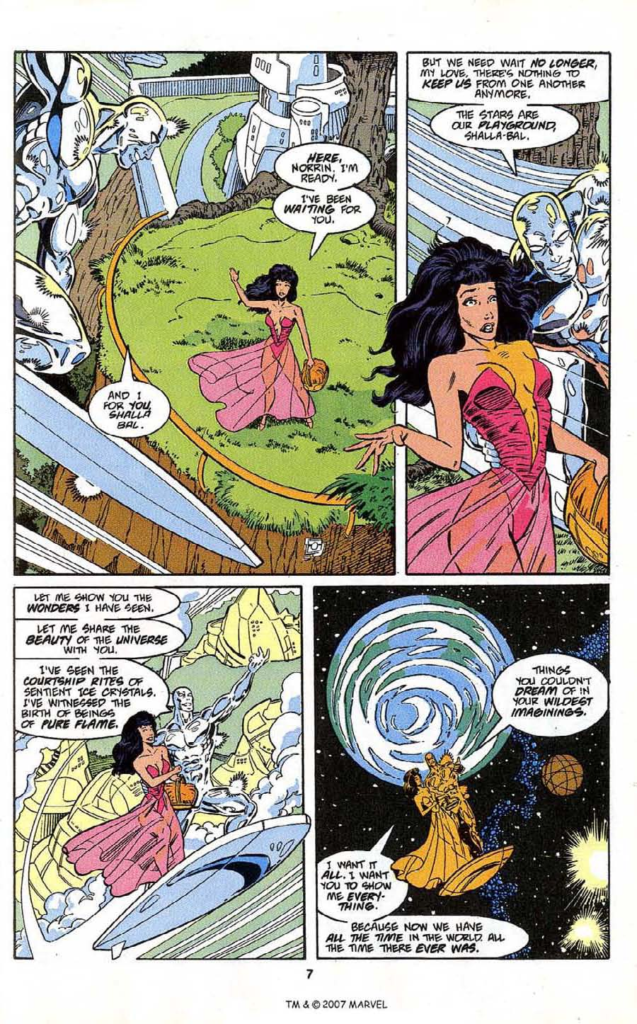 Read online Silver Surfer (1987) comic -  Issue # _Annual 4 - 9
