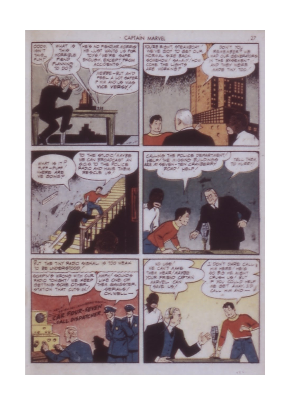 Captain Marvel Adventures issue 14 - Page 27