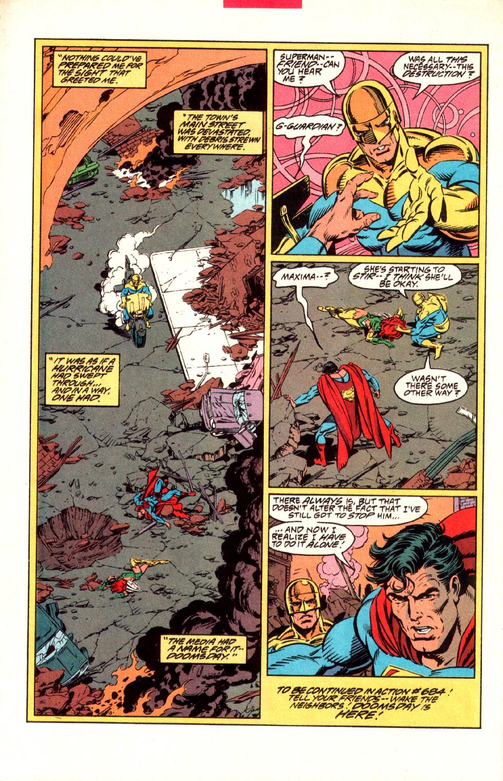 Read online Adventures of Superman (1987) comic -  Issue #497 - 24