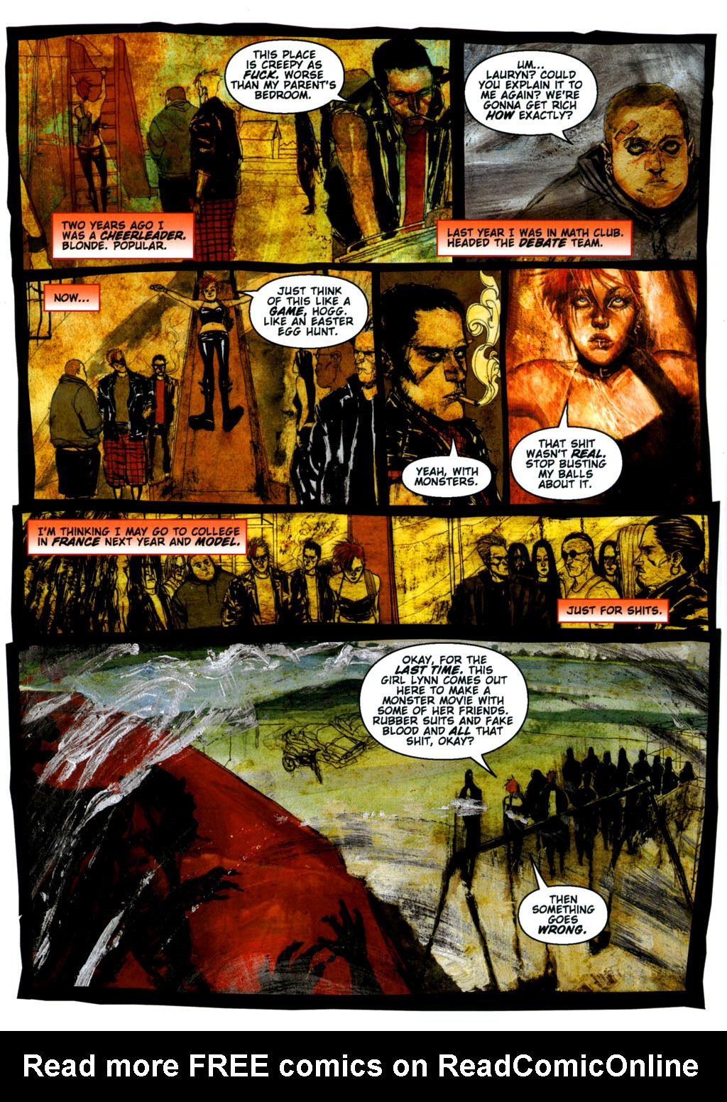 Read online Silent Hill: Dying Inside comic -  Issue #3 - 8