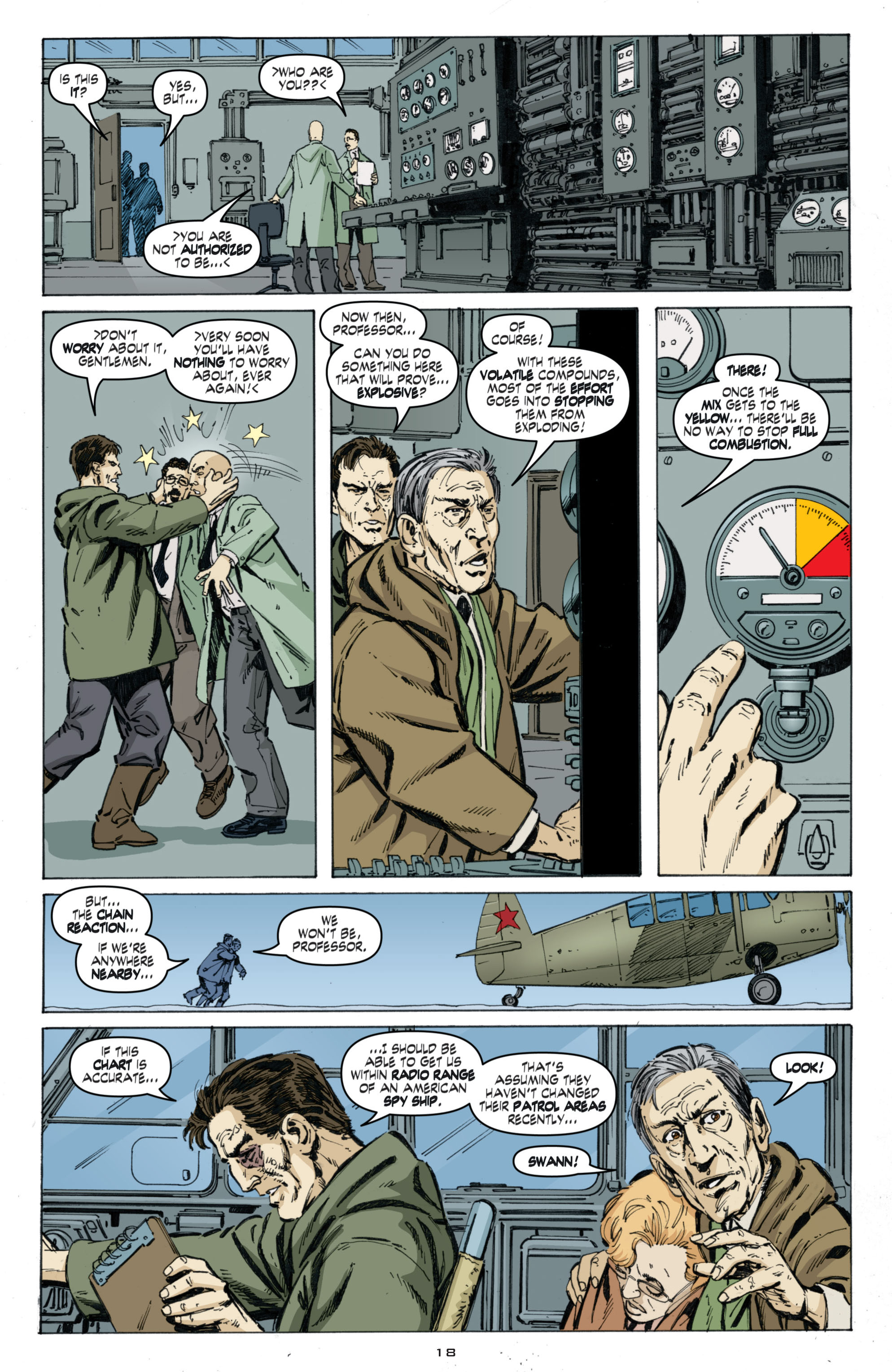 Read online Cold War comic -  Issue # TPB - 102