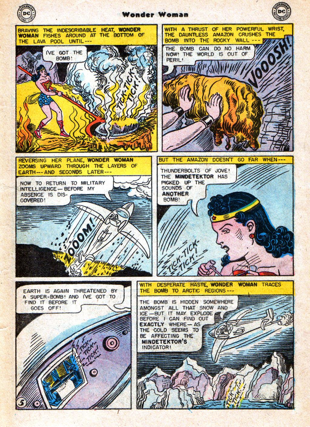 Read online Wonder Woman (1942) comic -  Issue #77 - 17
