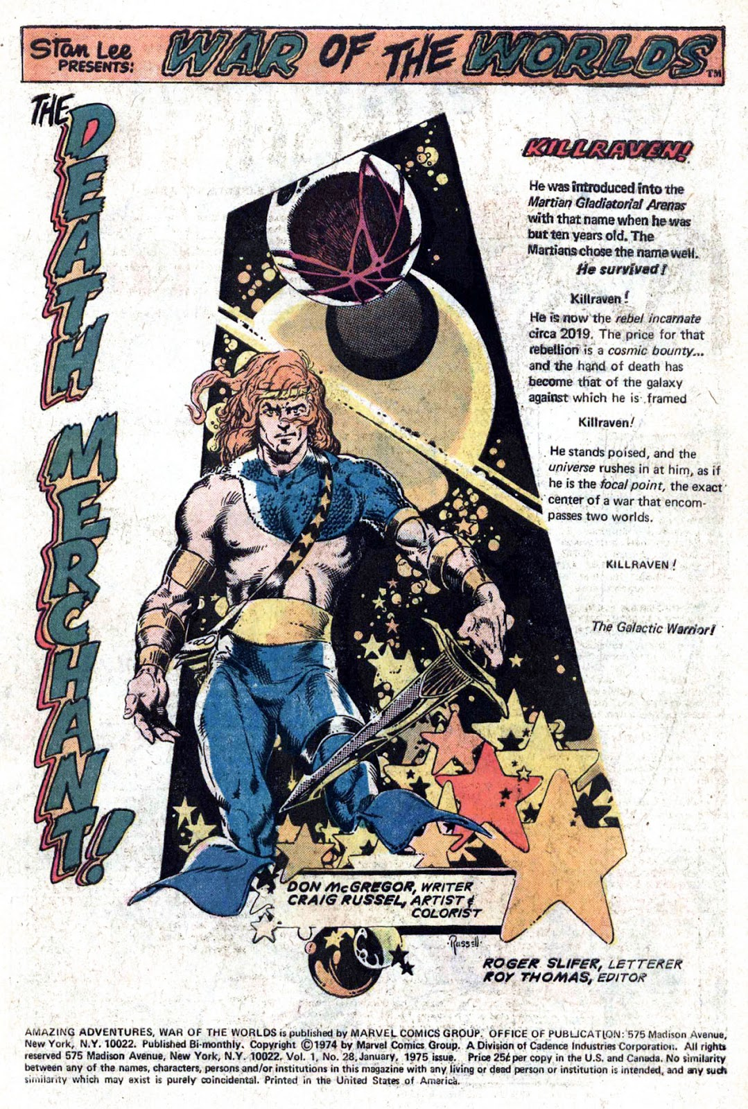 Amazing Adventures (1970) issue 28 - Page 3