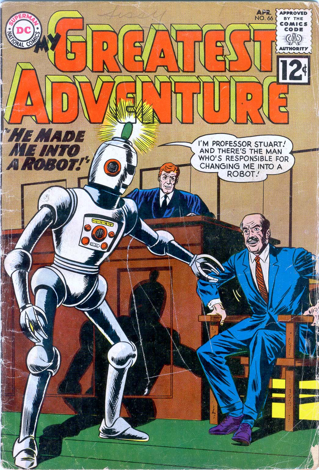 My Greatest Adventure (1955) issue 66 - Page 1