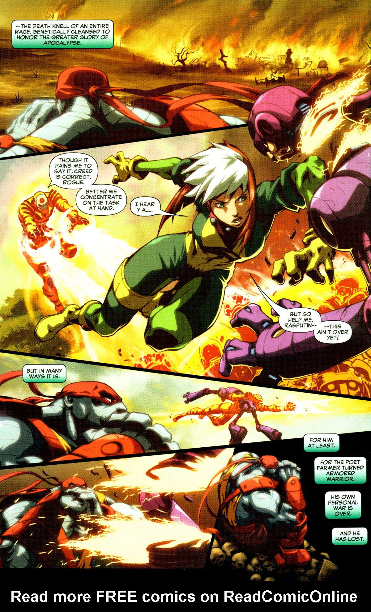 Read online X-Men: Age of Apocalypse One-Shot comic -  Issue # Full - 5