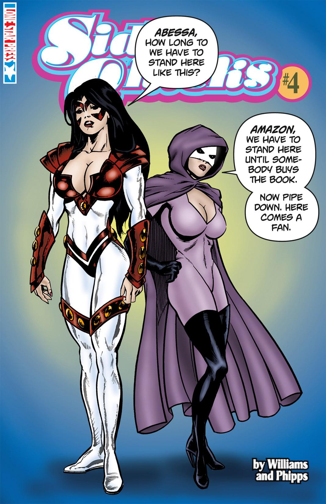 Read online SideChicks comic -  Issue #4 - 1