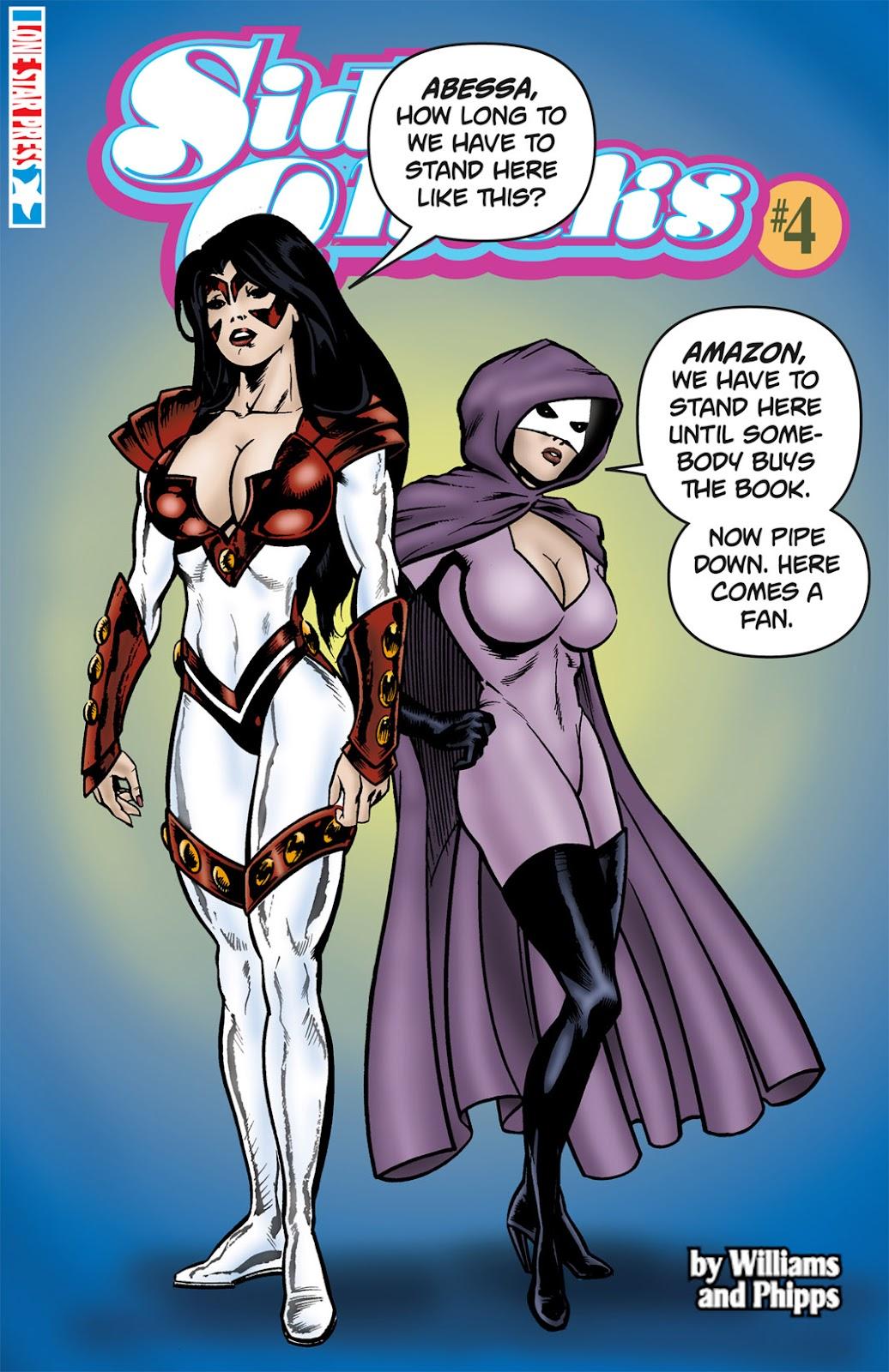 SideChicks issue 4 - Page 1