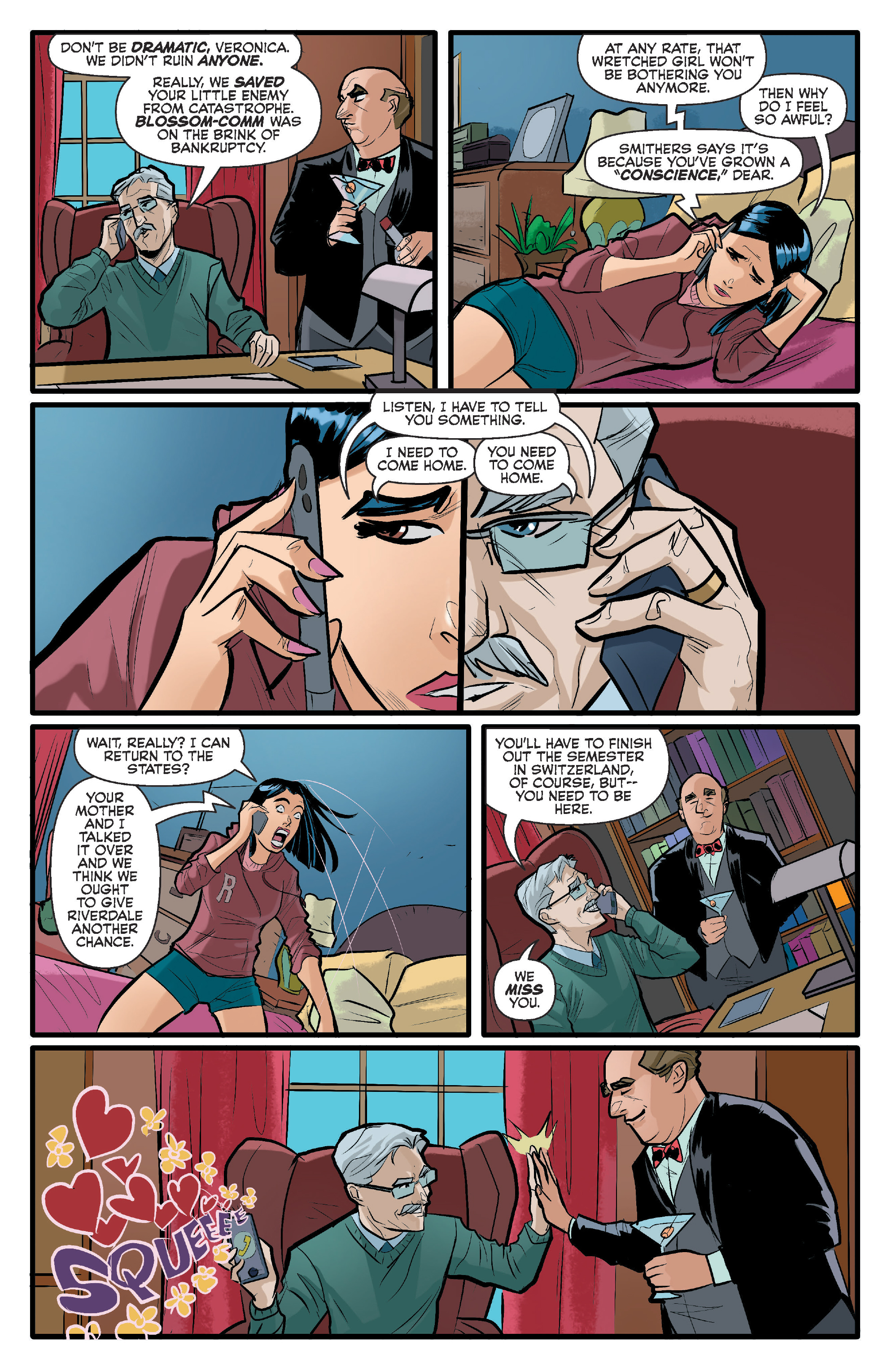 Read online Archie (2015) comic -  Issue #15 - 19