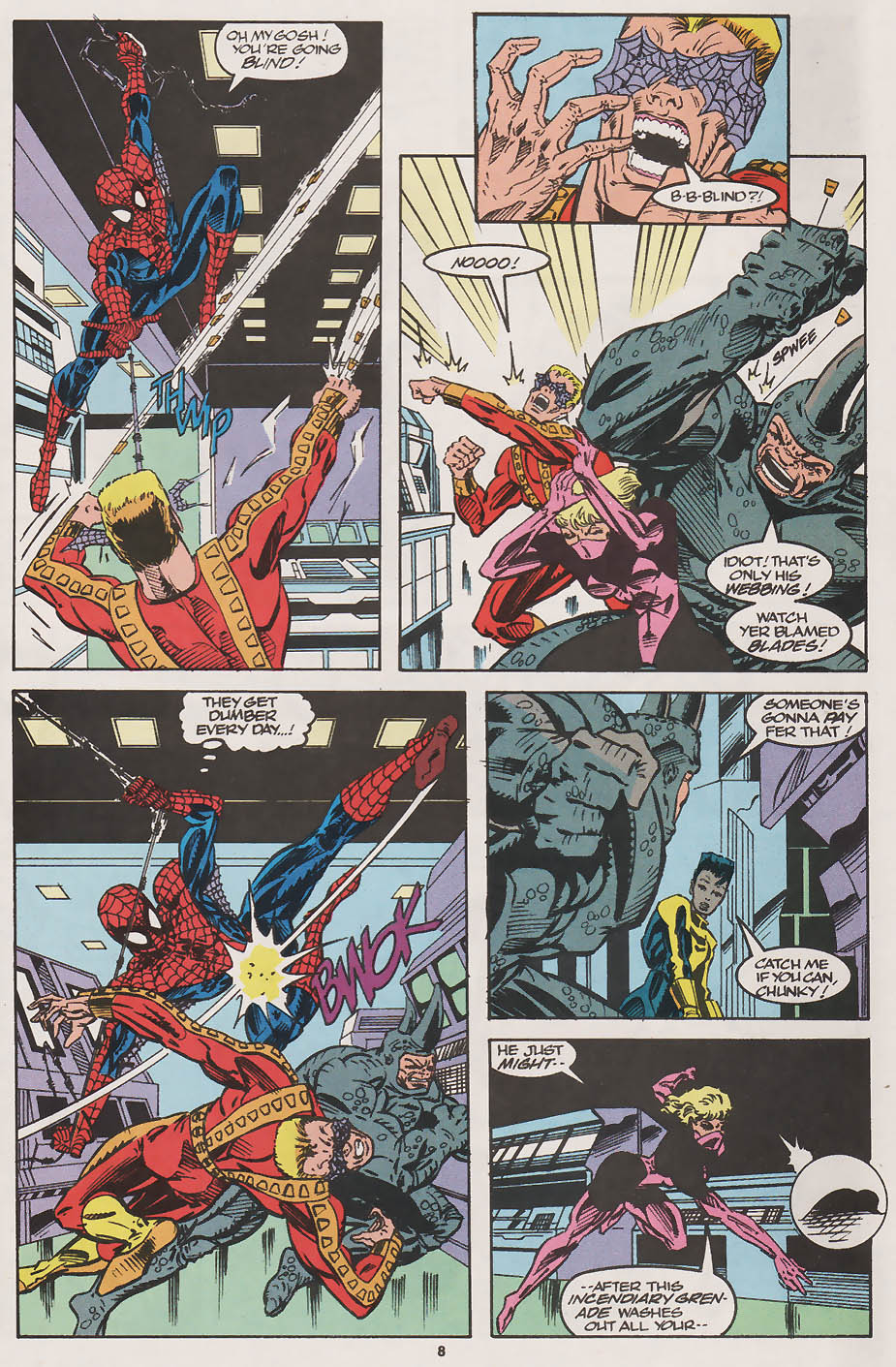 Web of Spider-Man (1985) _Annual 8 #8 - English 8