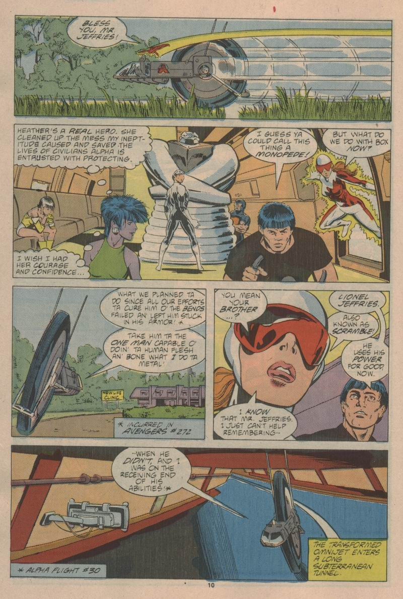 Read online Alpha Flight (1983) comic -  Issue #43 - 11