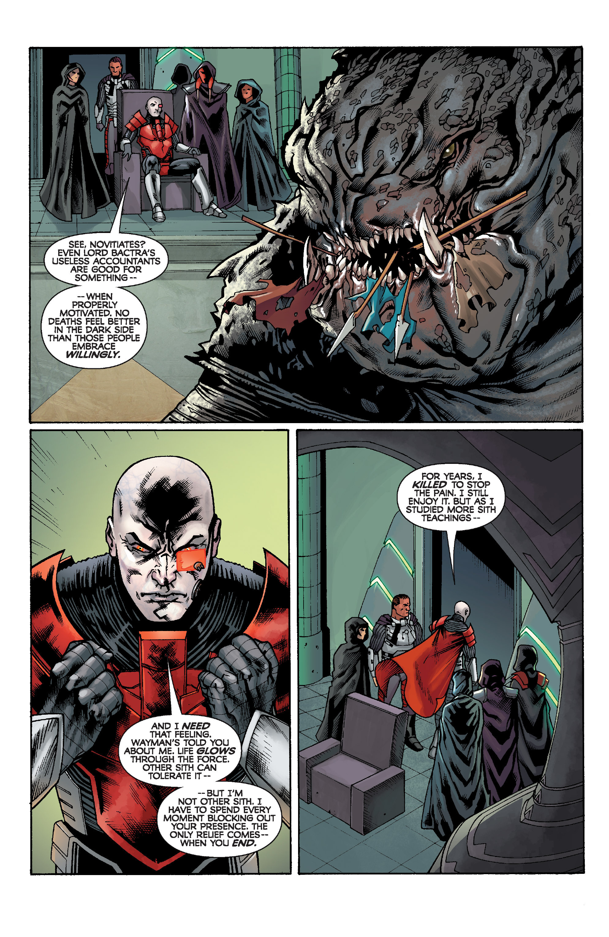Read online Star Wars: Knight Errant - Escape comic -  Issue #1 - 18