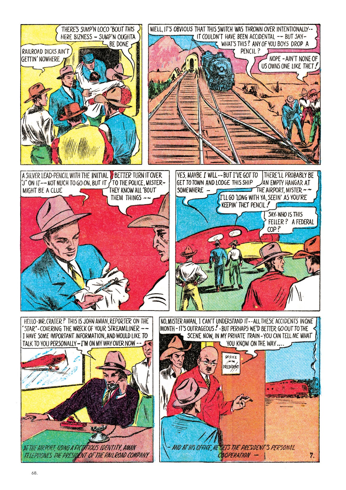 Read online The Bill Everett Archives comic -  Issue # TPB 1 (Part 1) - 68