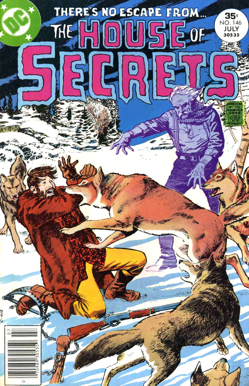 House of Secrets (1956) issue 146 - Page 1