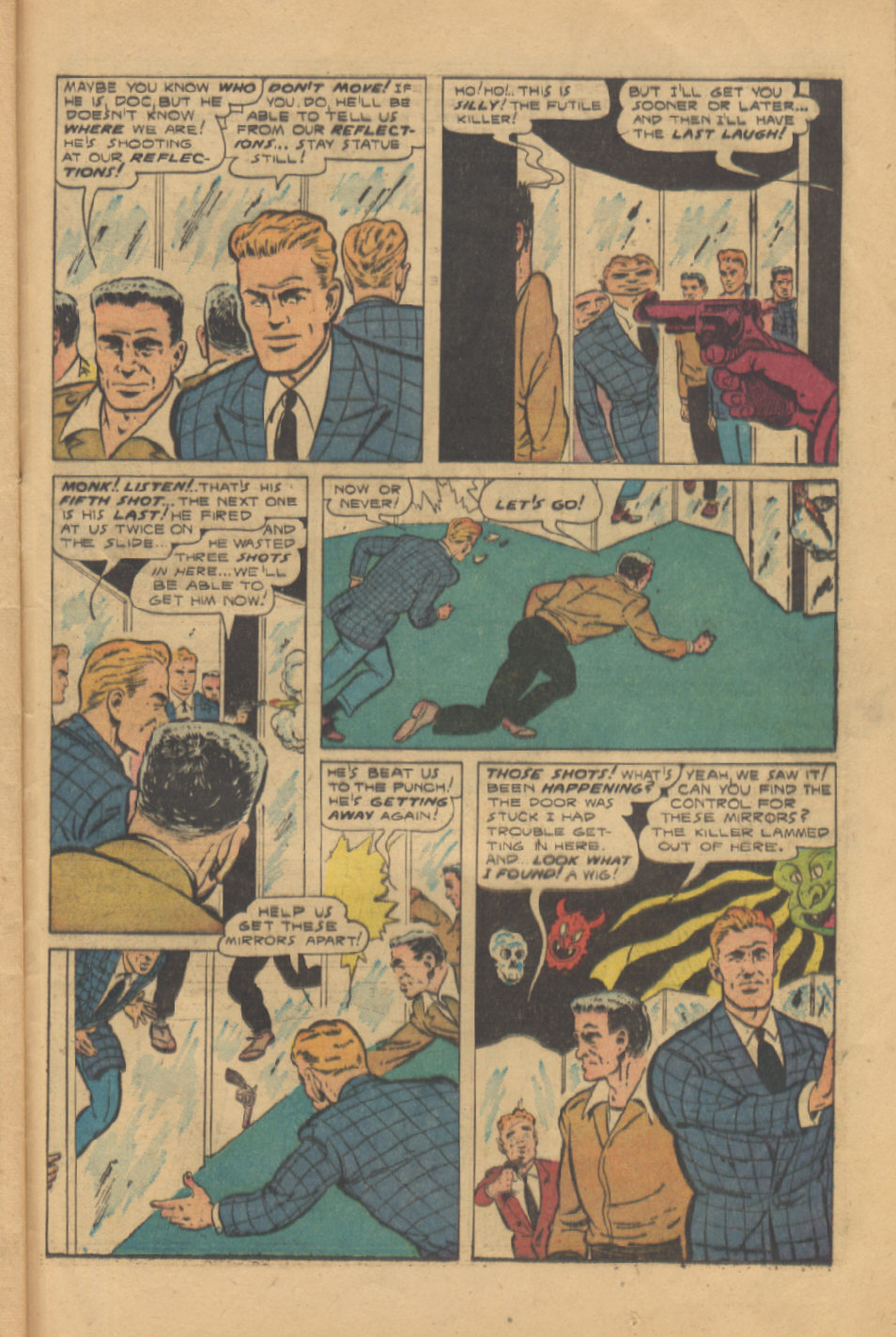 Read online Shadow Comics comic -  Issue #95 - 37