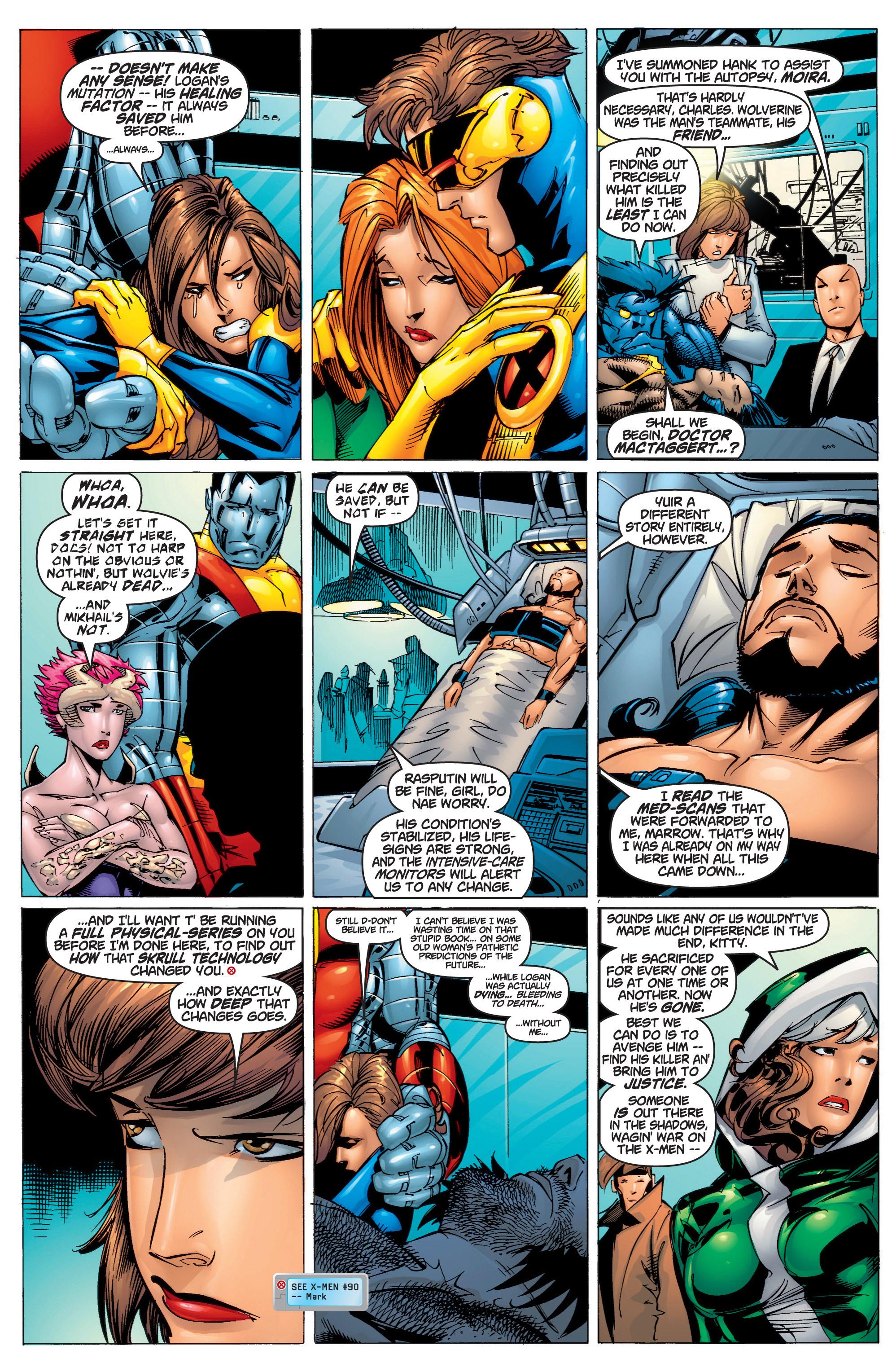 Read online Uncanny X-Men (1963) comic -  Issue #375 - 8