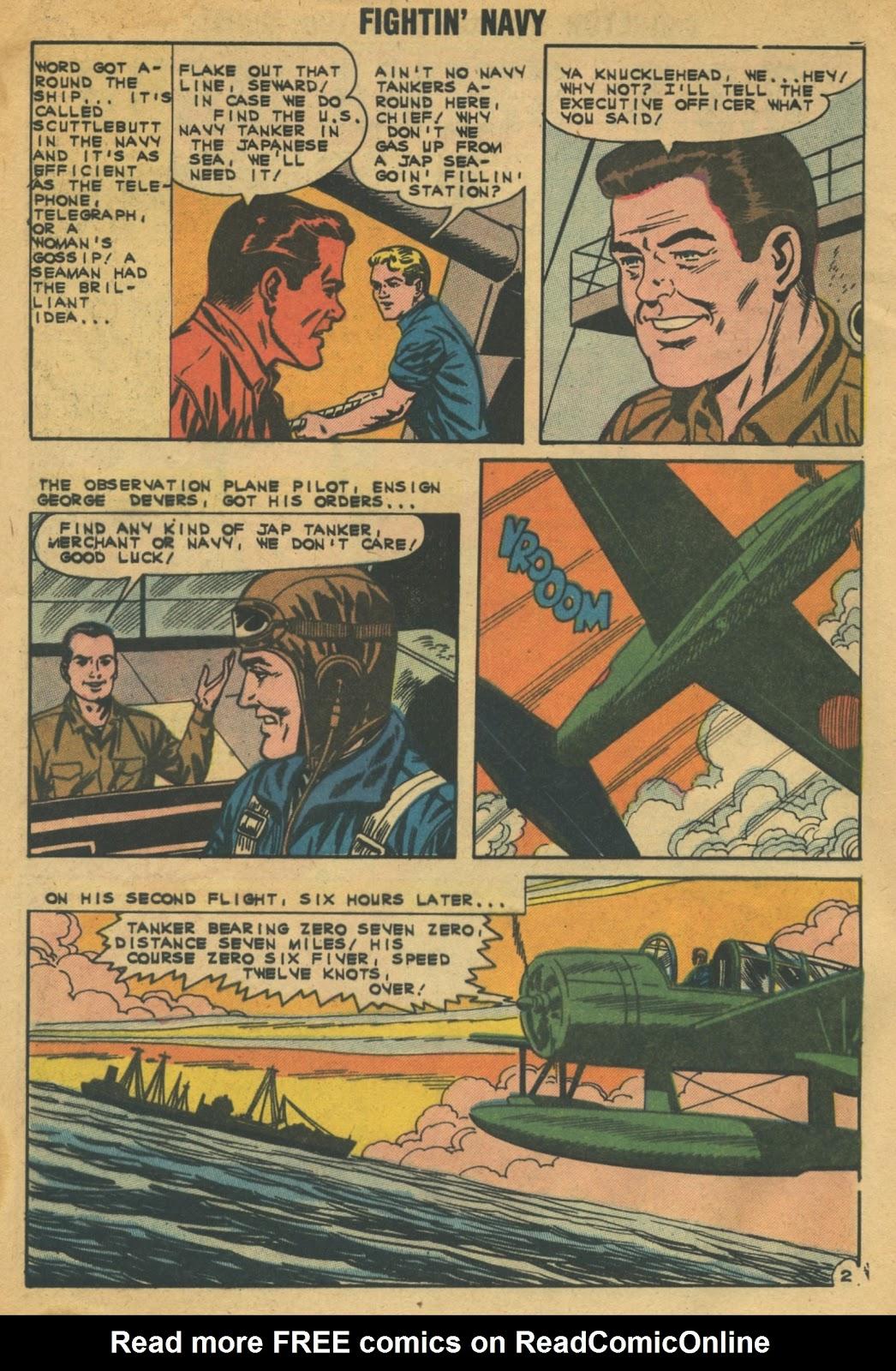 Read online Fightin' Navy comic -  Issue #103 - 4