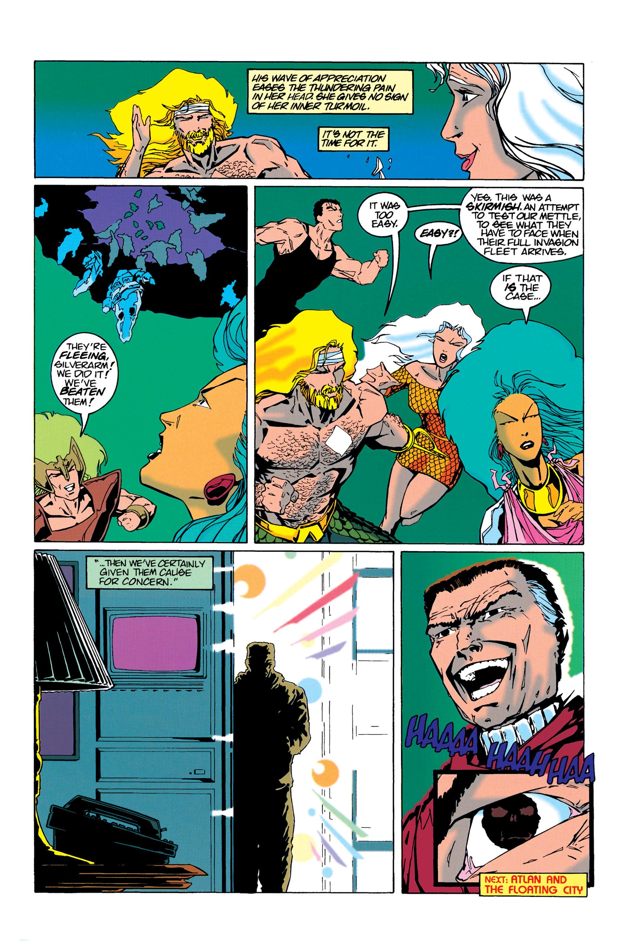 Read online Aquaman (1994) comic -  Issue #21 - 22