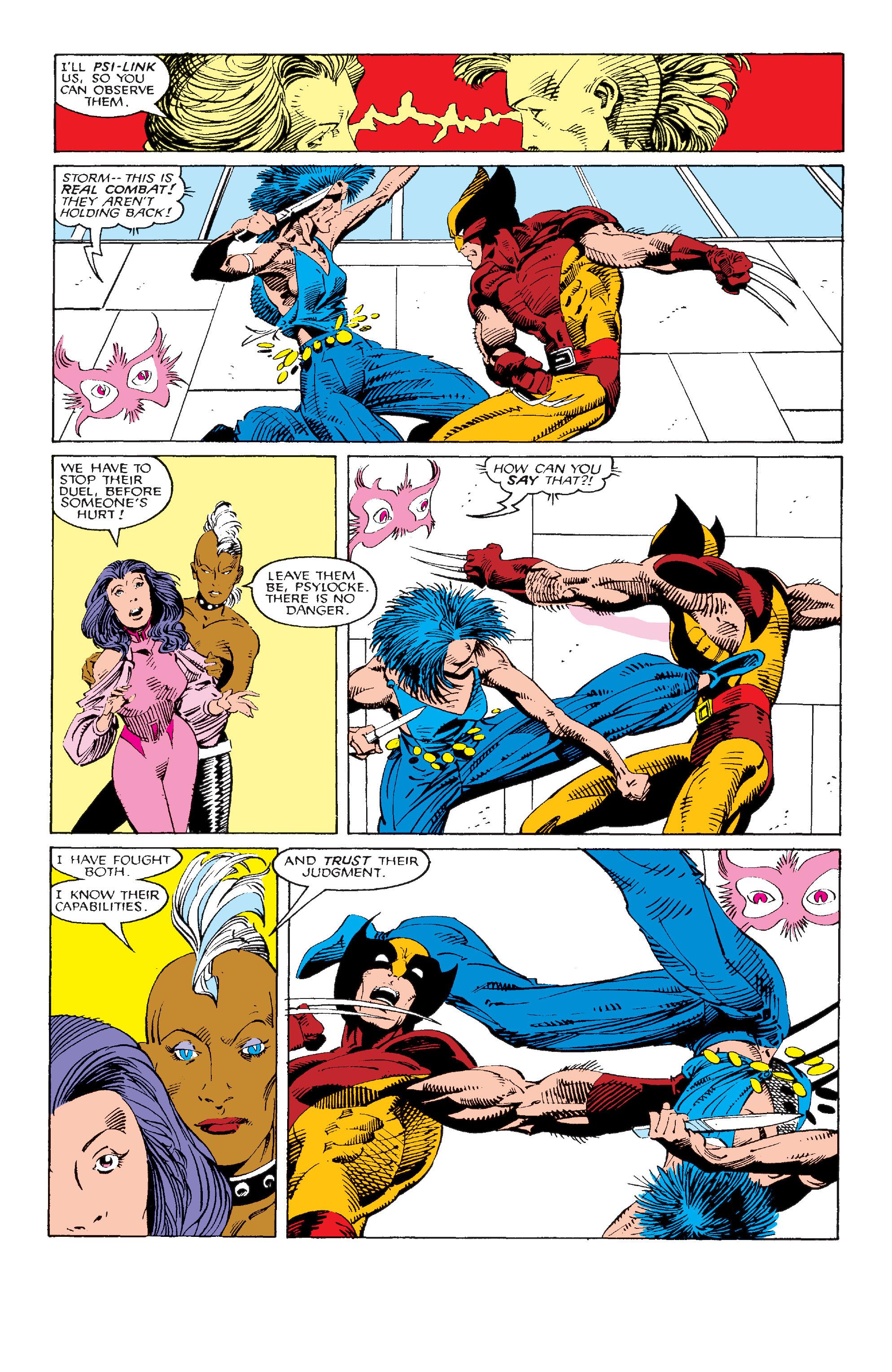 Read online Uncanny X-Men (1963) comic -  Issue #214 - 8