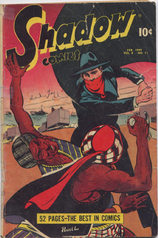 Read online Shadow Comics comic -  Issue #95 - 1