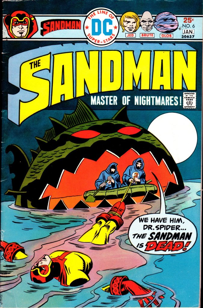 The Sandman (1974) issue 6 - Page 1