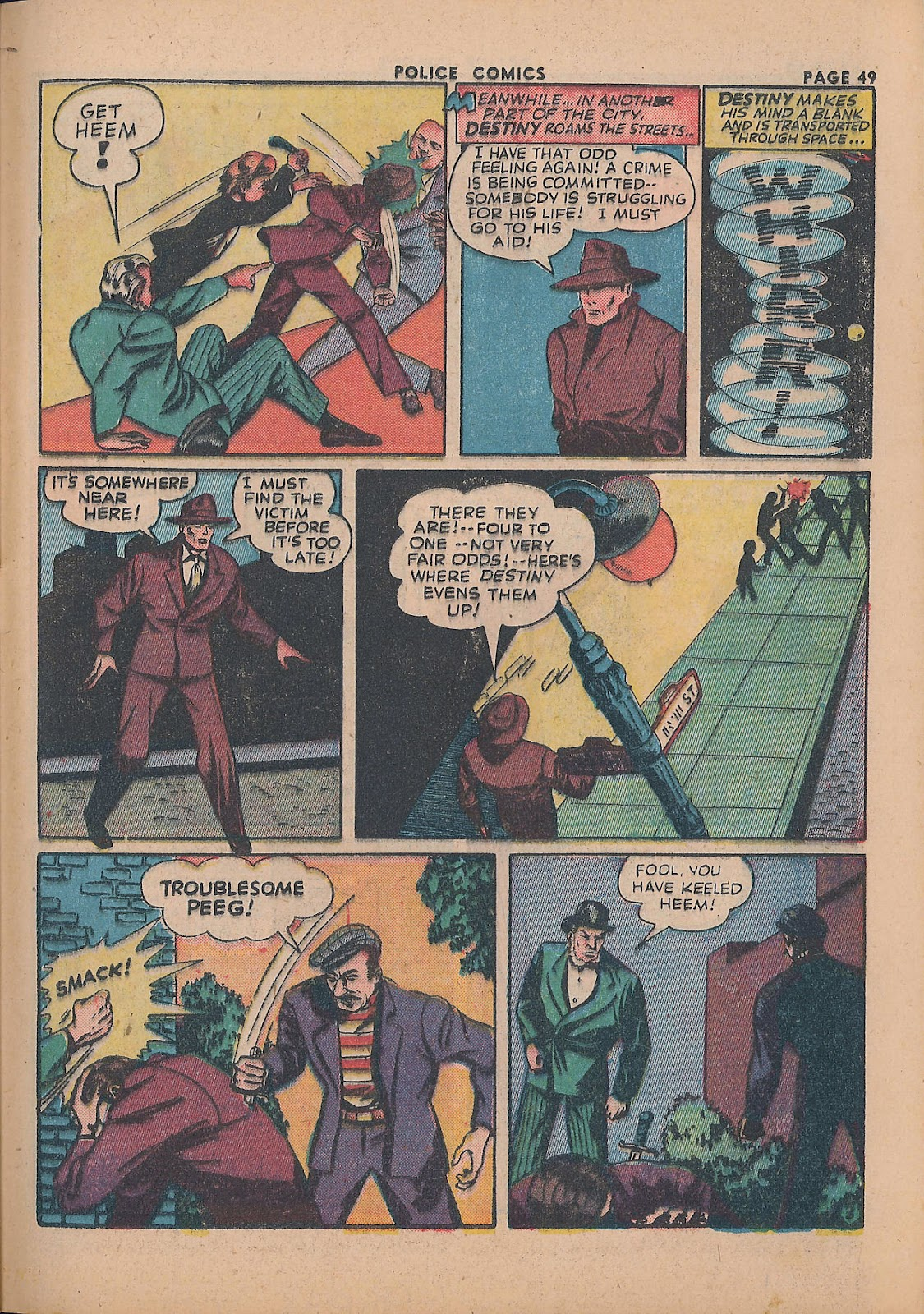 Police Comics issue 21 - Page 51