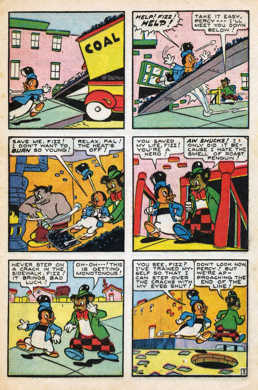 Read online Comedy Comics (1942) comic -  Issue #27 - 21