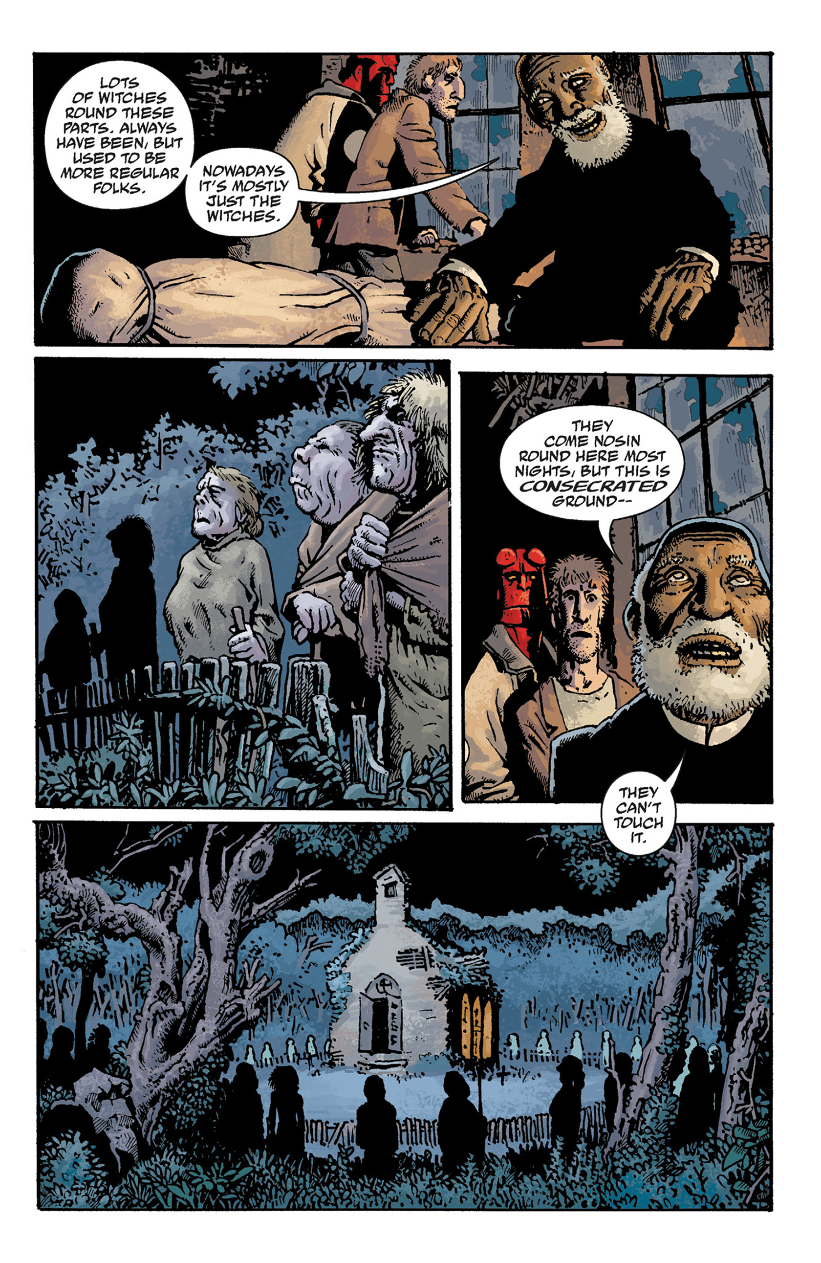 Read online Hellboy: The Crooked Man and Others comic -  Issue # TPB - 53